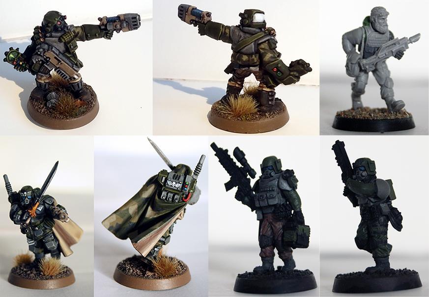 Amf1, Astra Militarum, Cadians, Conversion, Elysian, Imperial Guard, Kasrkin, M90, Space Marines, Storm Troopers, Swebat, Swedish
