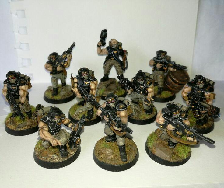Astra Militarum, Conversion, Imperial Guard, Infantry, Kitbash, Squad