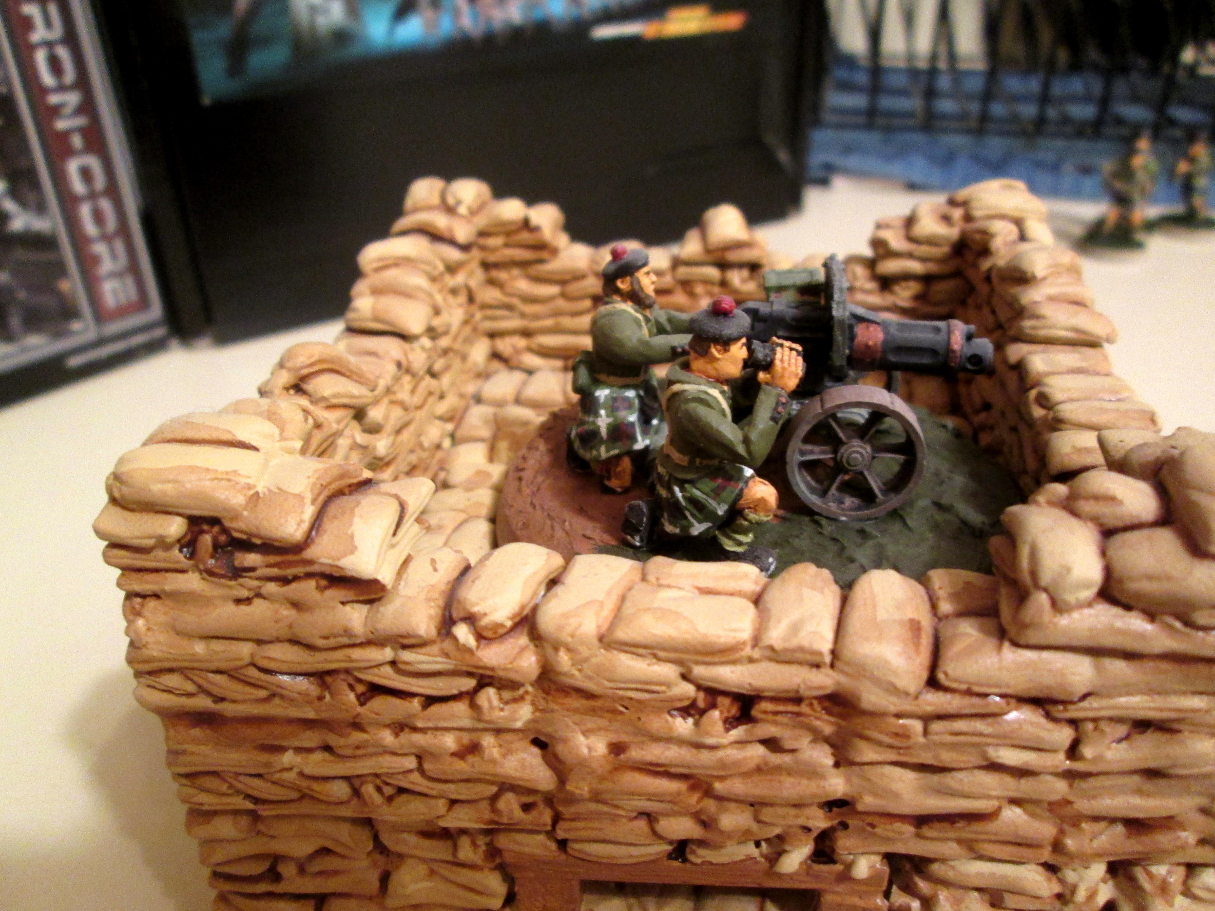 Bunker, Hirst Arts, Imperial Guard, Kromlech, Sandbags