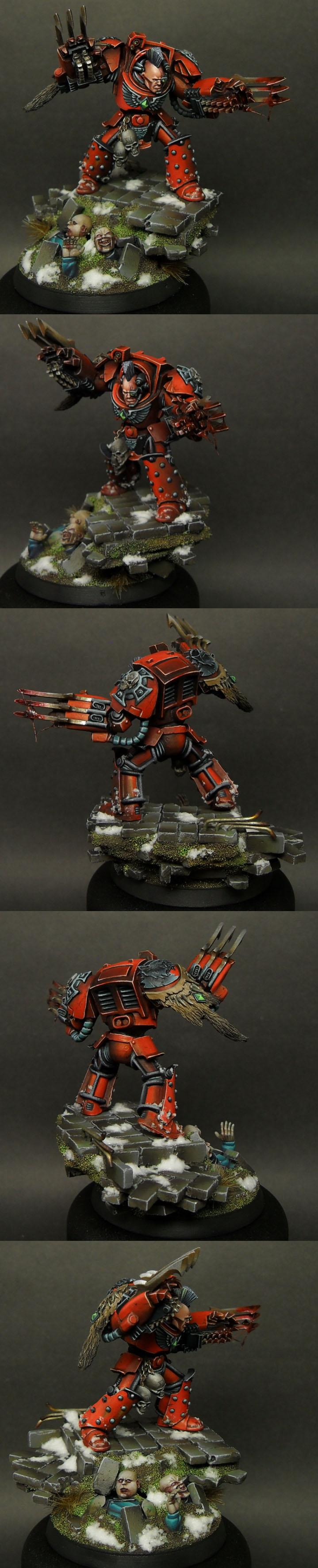 Pro-painted, Space Marines, Terminator Armor