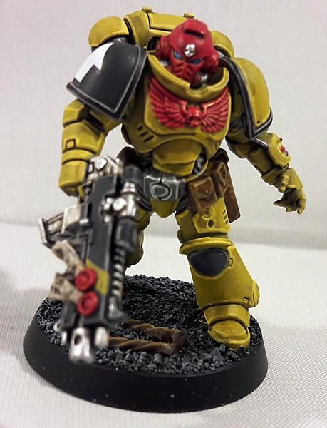 Imperial Fists, Intercessors, Primaris, Space Marines, Urban, Yellow