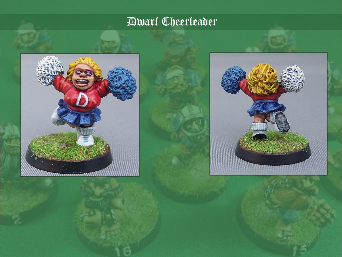 Blood Bowl, Cheerleader, Dwarves