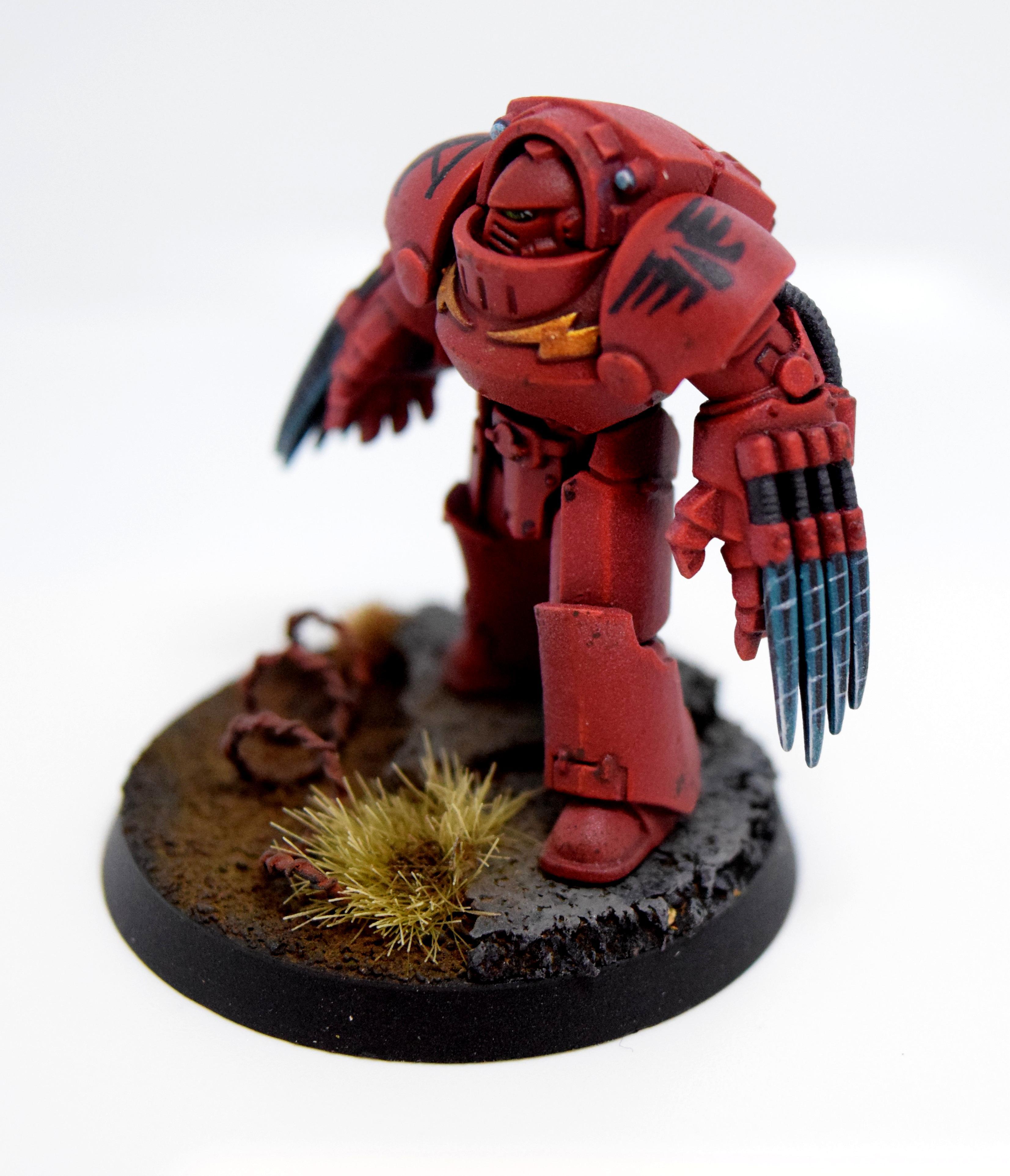 Blood Angels, Lightning Claw, Tartaros, Terminator Armor