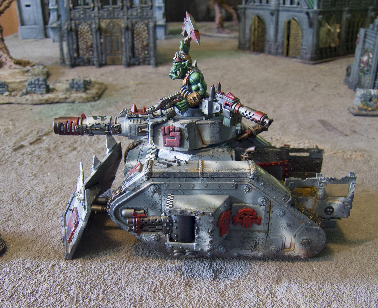 Conversion, Looted Tank, Looted Wagon, Orks, Tank