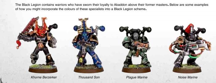 Black Legion Cult Marines