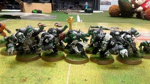Blood Bowl, Orcland Raiders