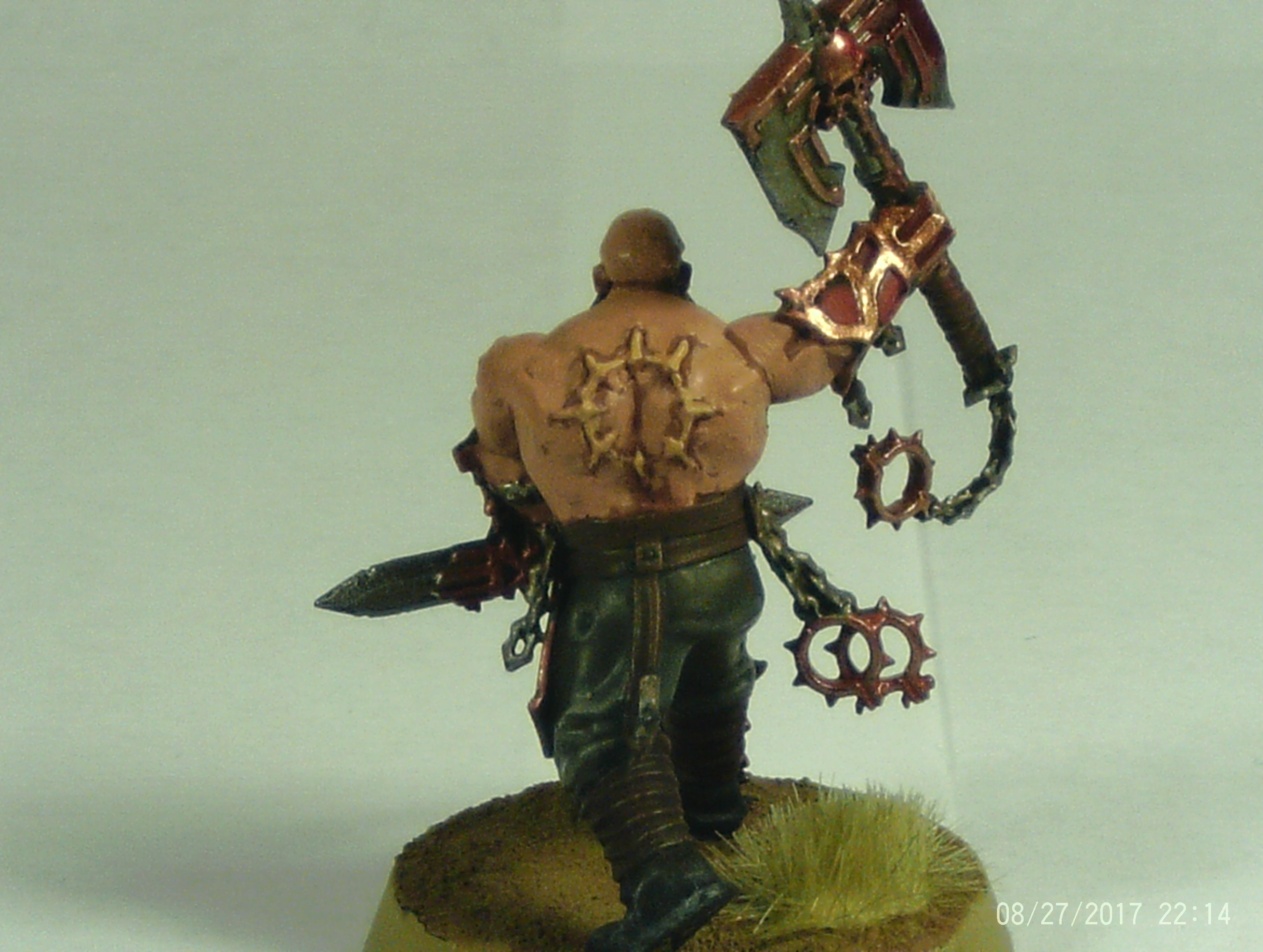 Axe, Berserkers, Blood, Bloodbound, Bloodreavers, Chaos, Khorne, Sigmar, Warhammer Fantasy