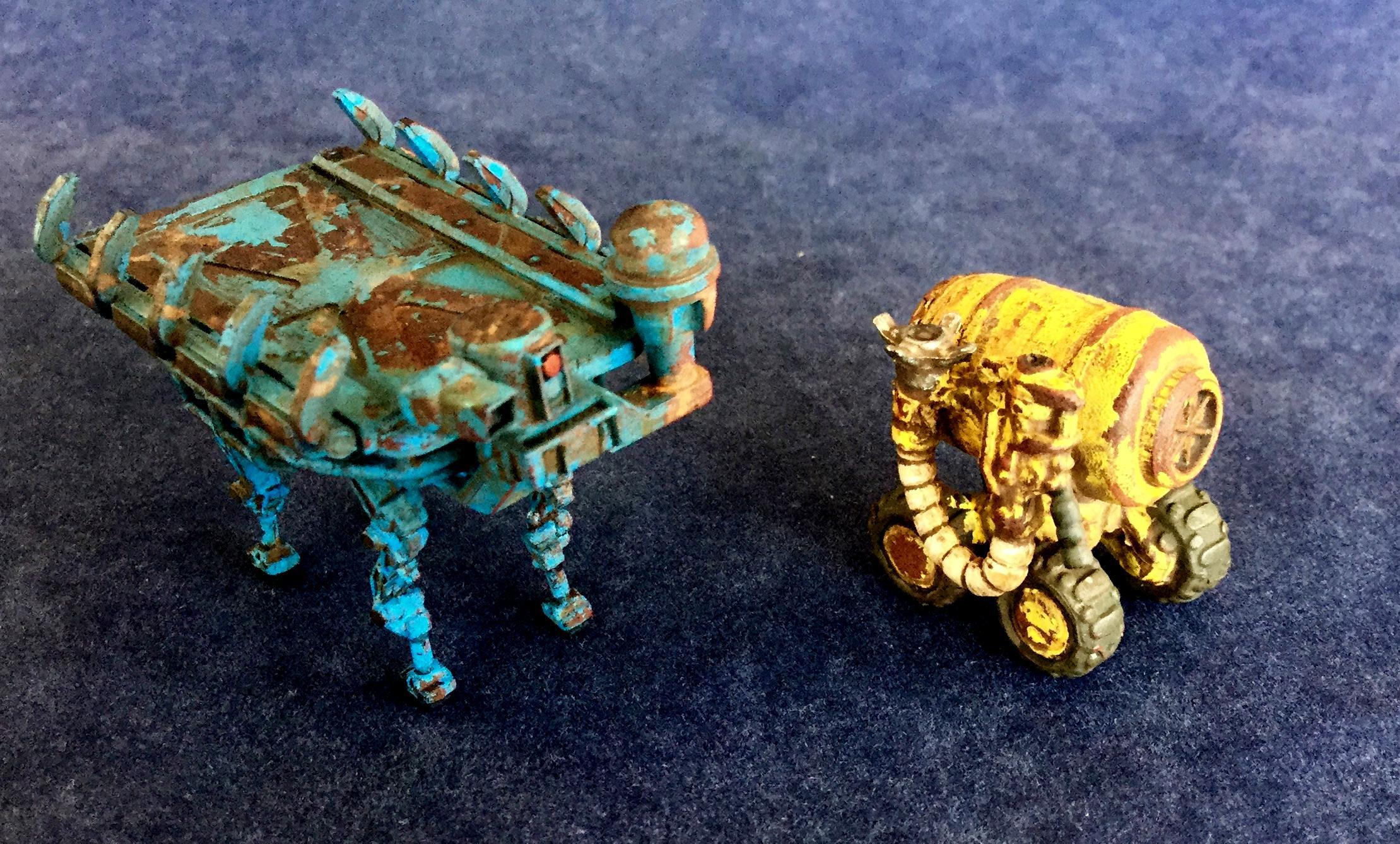 Cargo, Dreamforge, Terrain, Walker