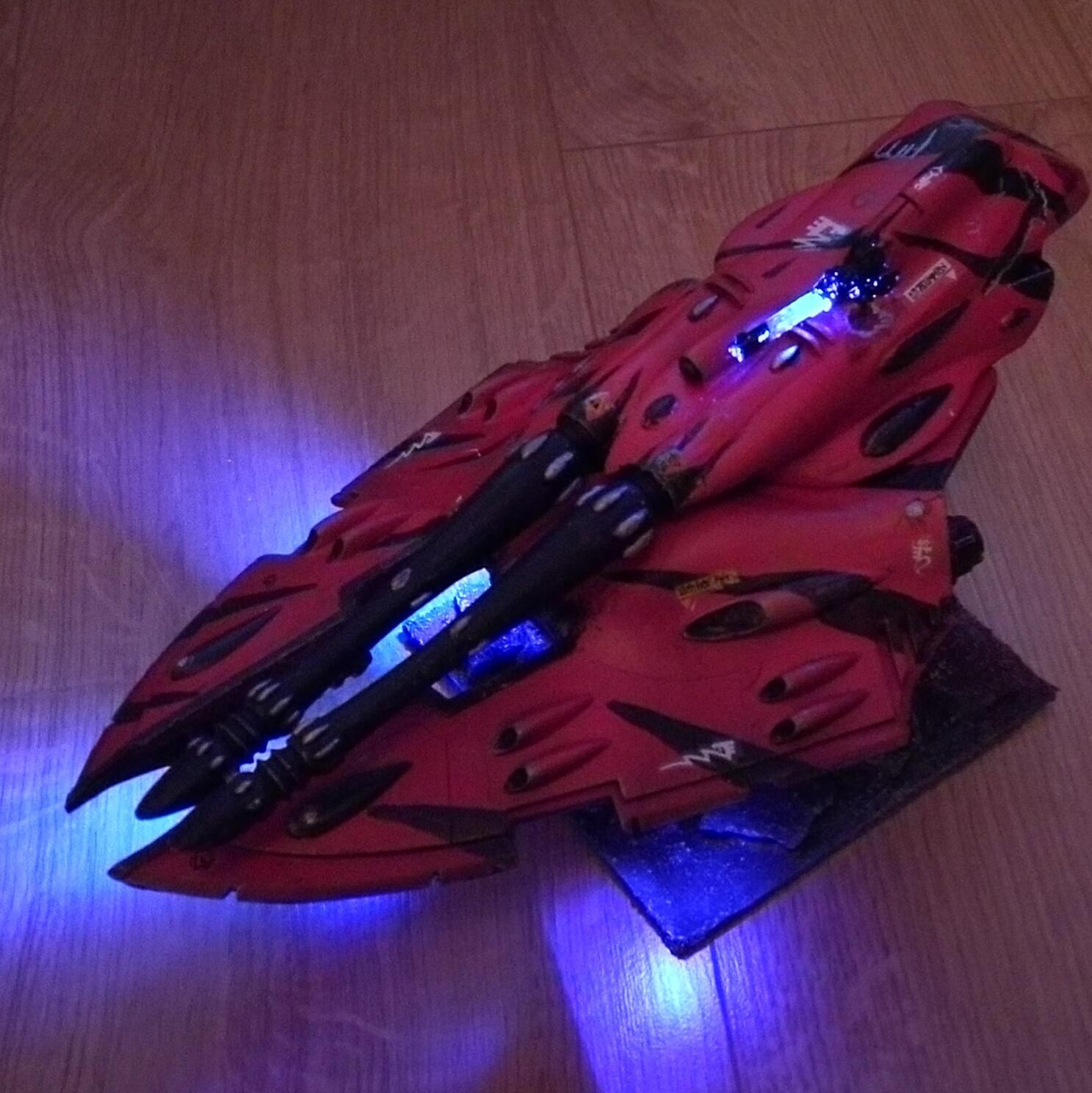 Eldar, Forge World, LED, Light, Lit, Scorpion, Tank
