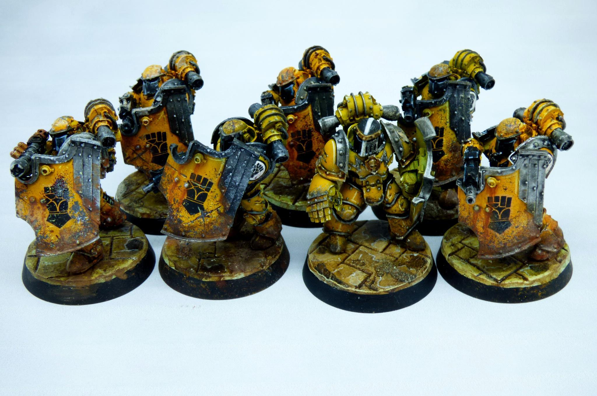 30k, Breachers, Horus Heresy, Imperial Fists