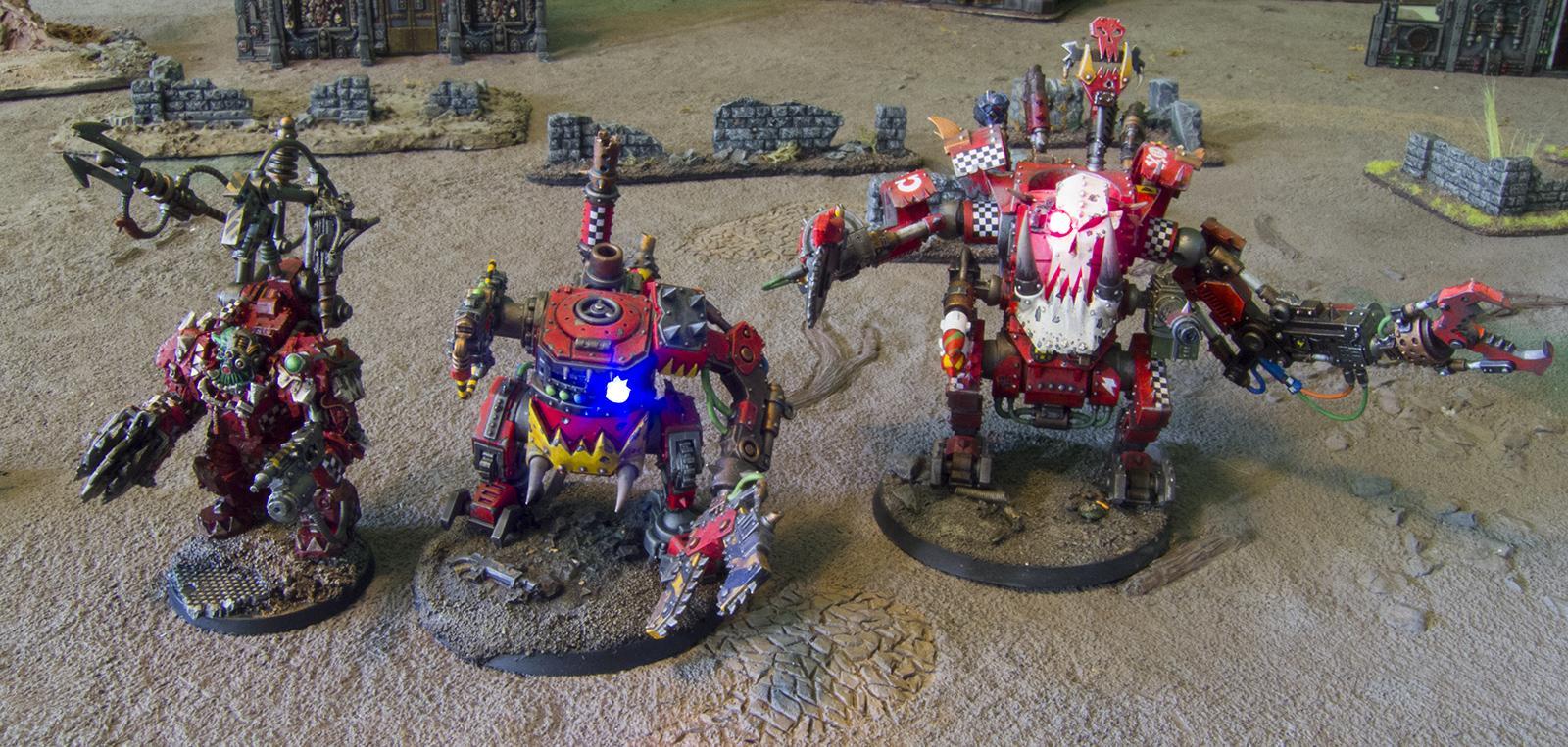 Big Mek, Conversion, Kromlech, Manz, Mega Armor, Mekboy, Orks