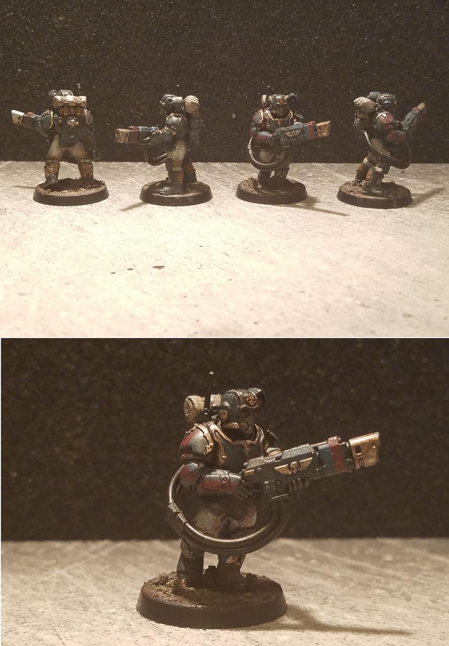 Astra Militarum, Imperial Guard, Militarum Tempestus, Scions, Warhammer 40,000