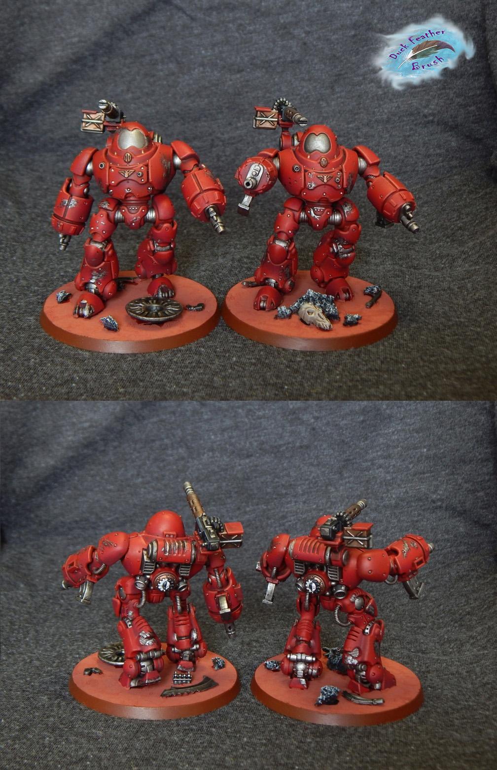 Adeptus, Admech, Kastelan, Mechanicus, Pro-painted, Robots