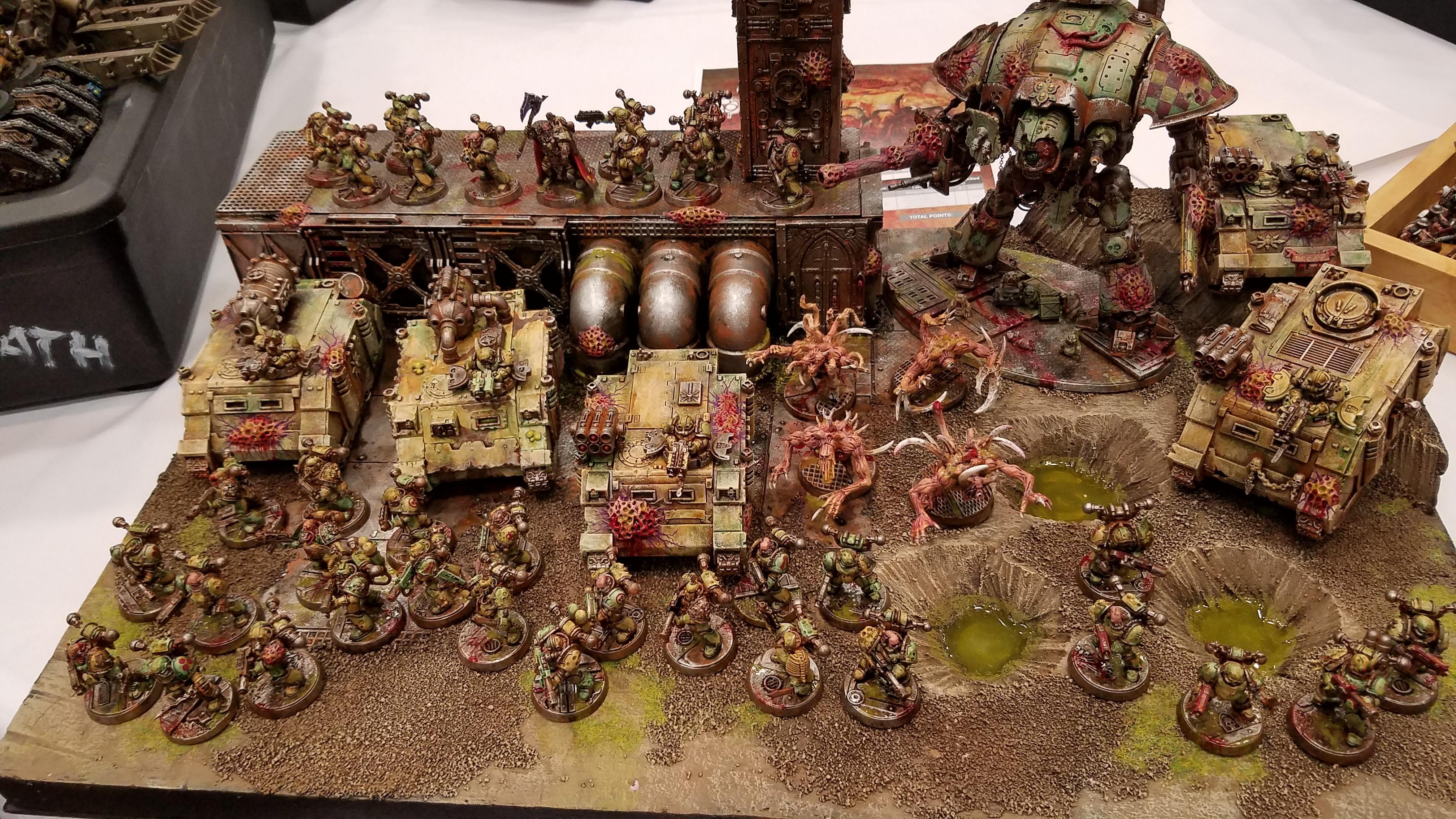 Army, Death Guard, Display Board