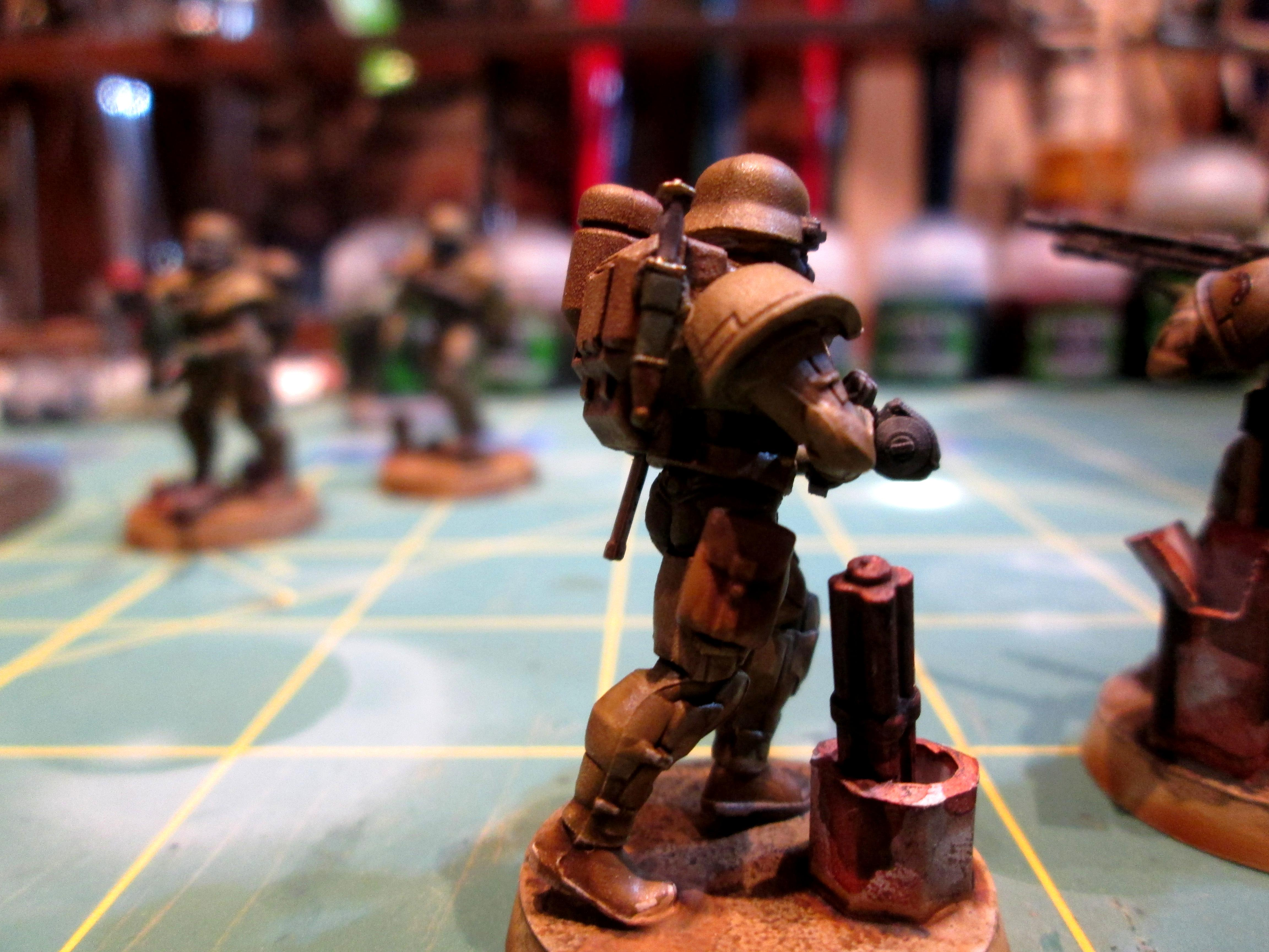 Dream Forge, Grenadiers, Imperial Guard, Infantry