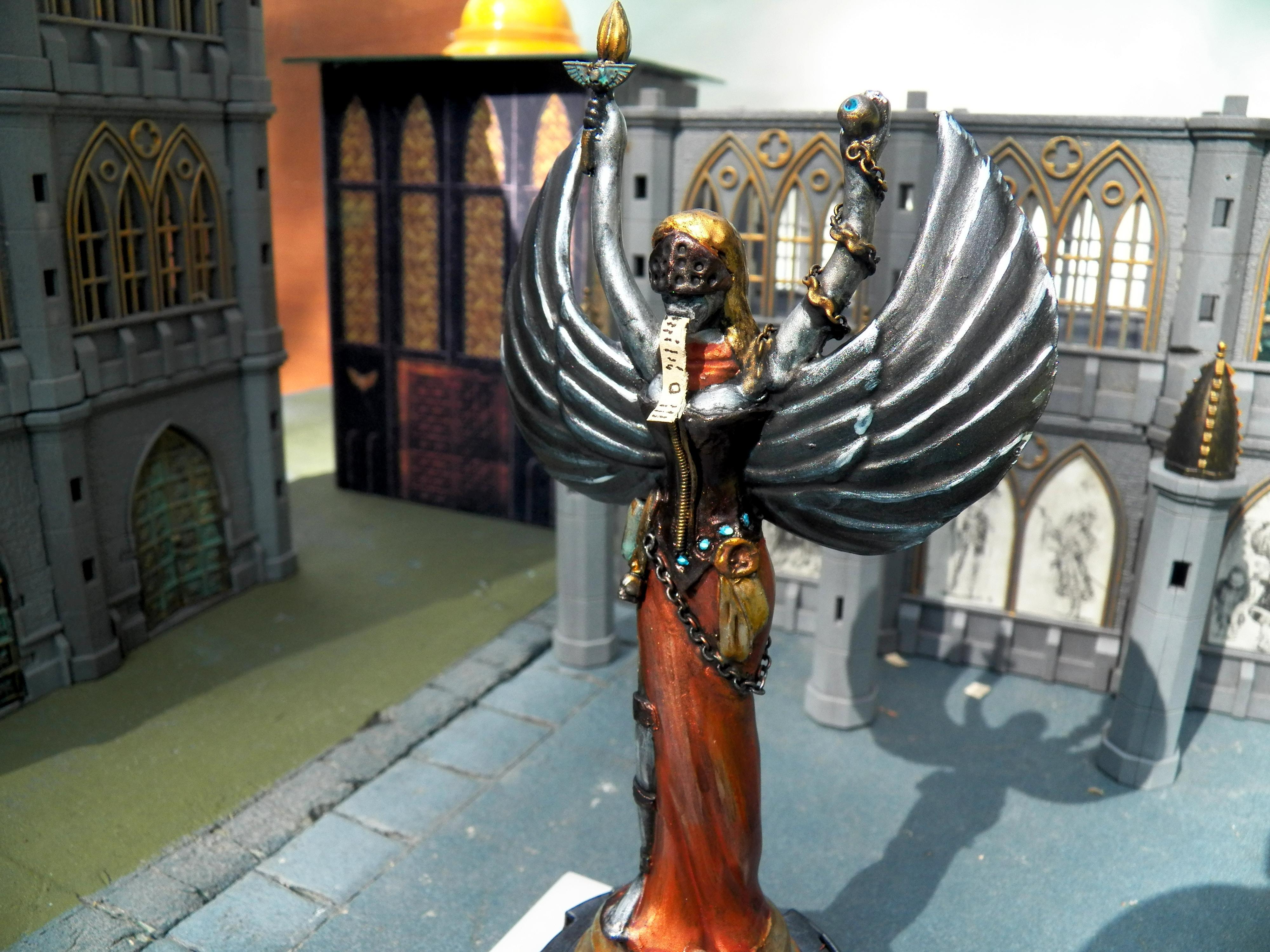 Angel, Grimdark, Sisters Of Batte, Statue, Temple, Terrain