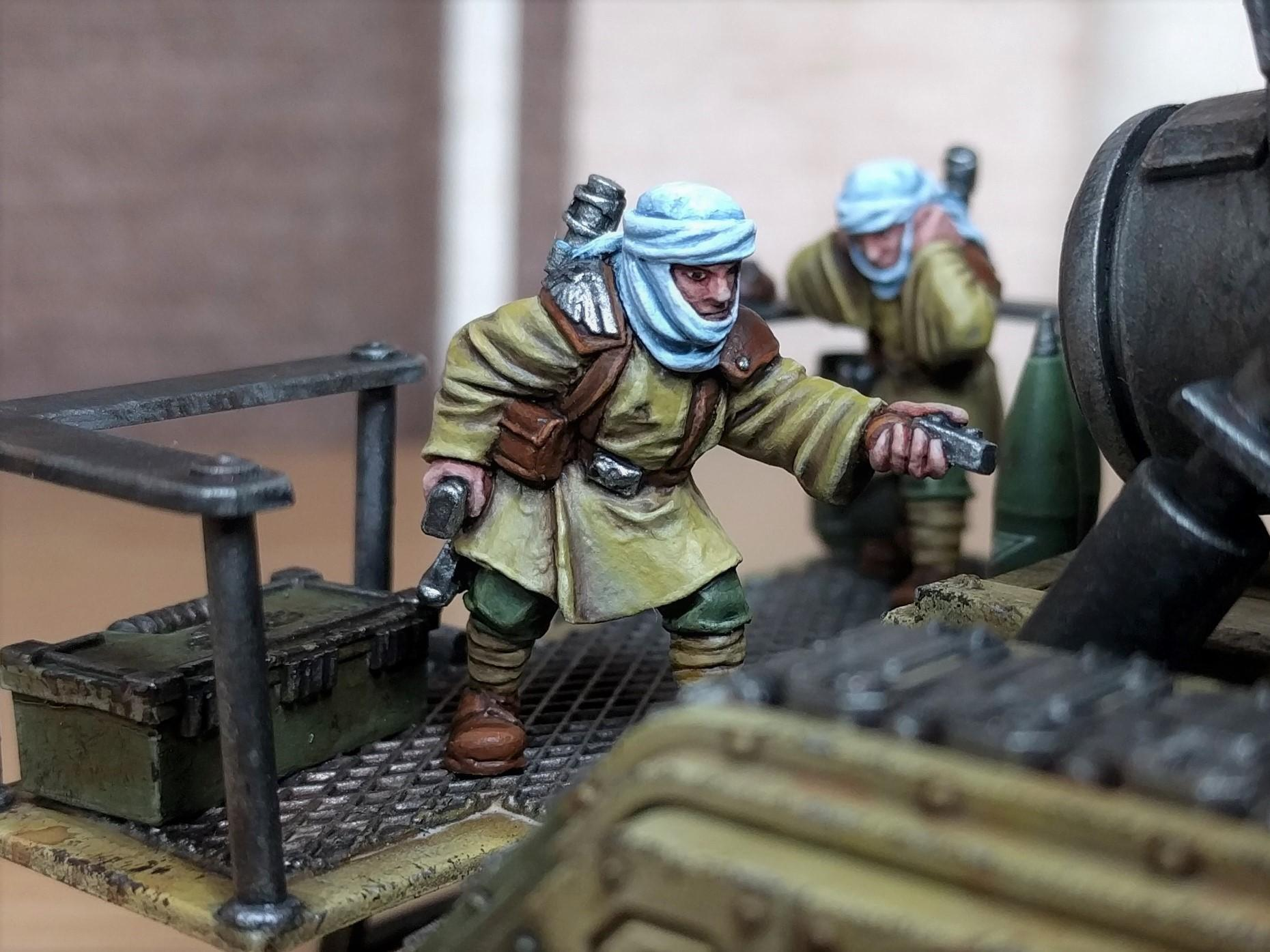 Basilisk, Crew, Tallarn Desert Raiders