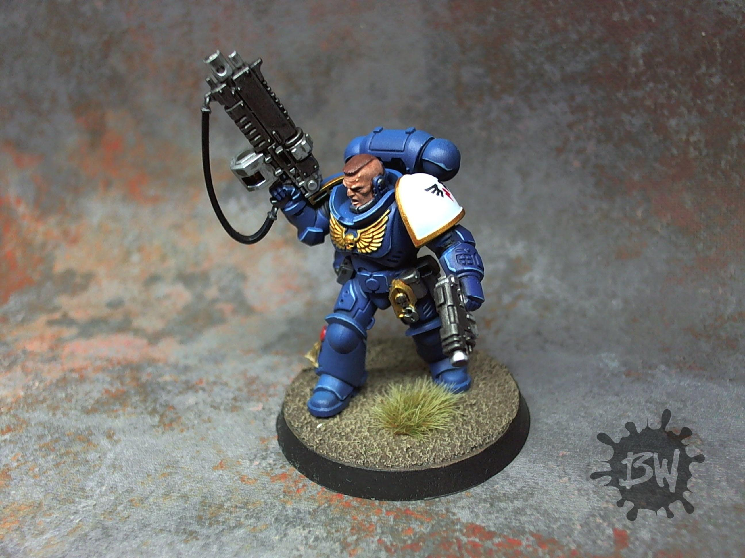 Fulminators, Lieutenant, Primaris, Space Marines, Warhammer 40,000
