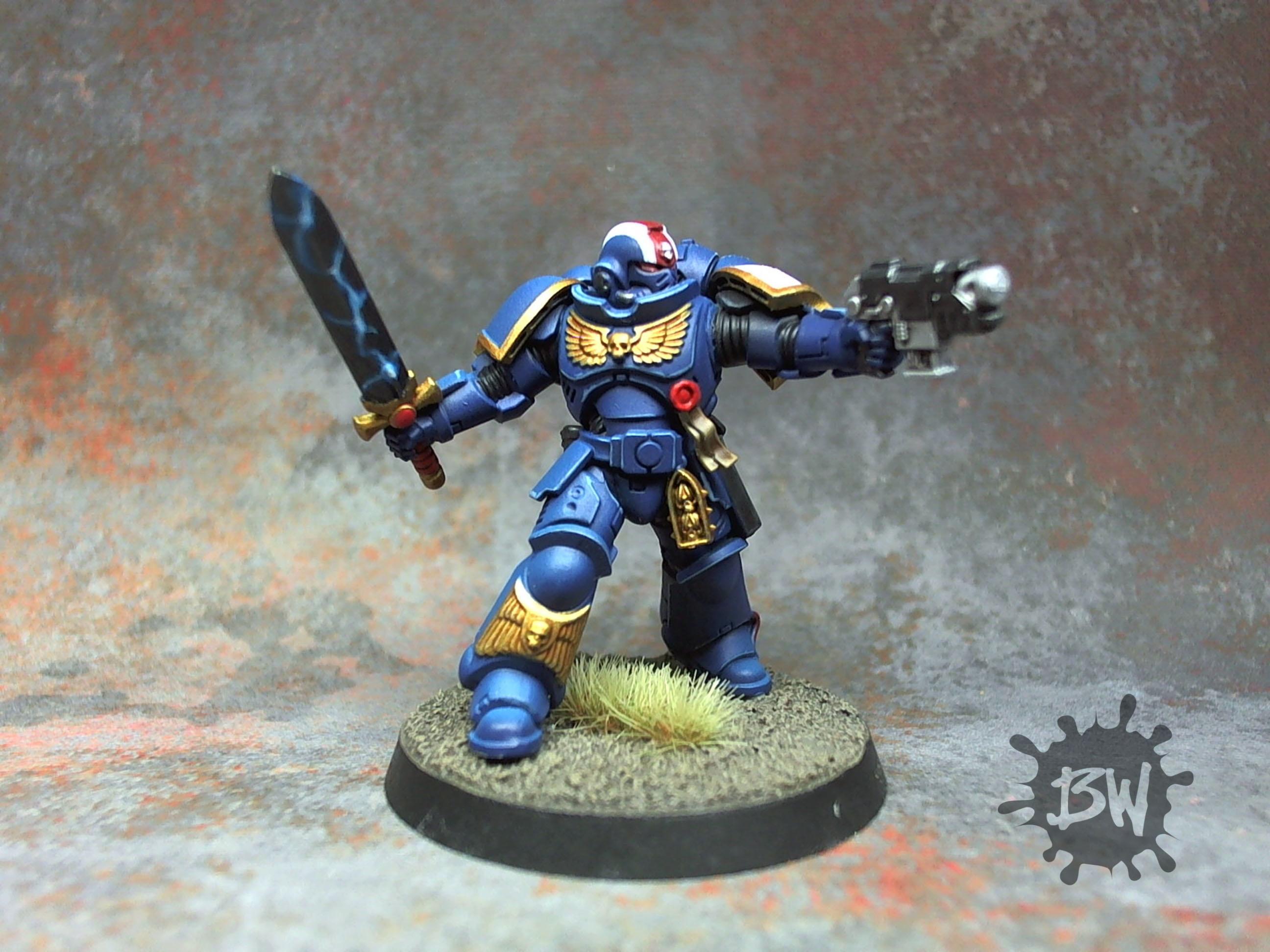 Fulminators, Lieutenant, Primaris, Space Marines, Warhammer 40,000