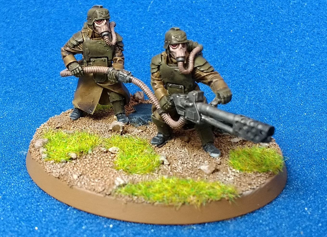 Death Korps of Krieg, Forge World, Grenadiers, Heavy Flamer