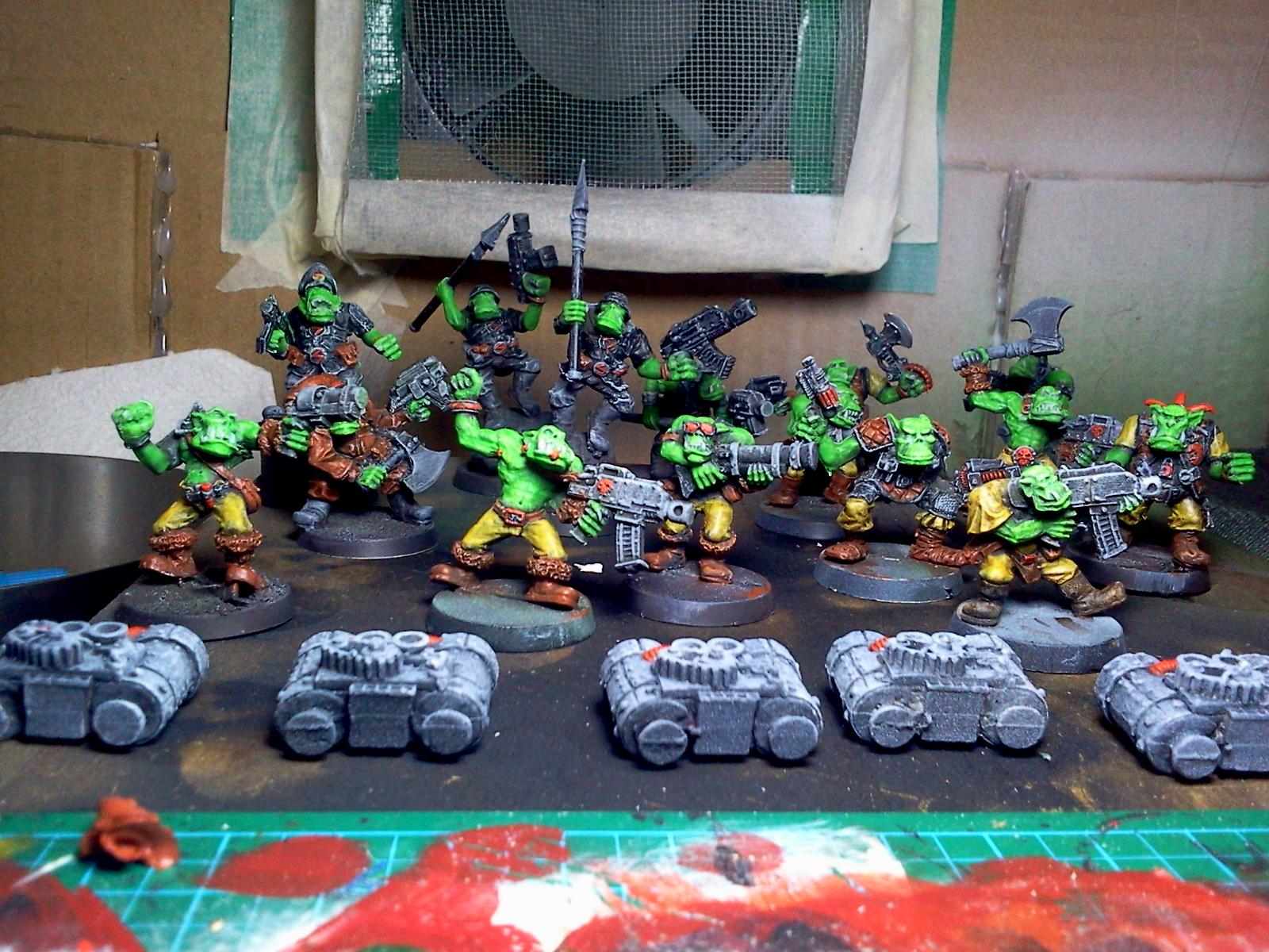 orks stage almost done