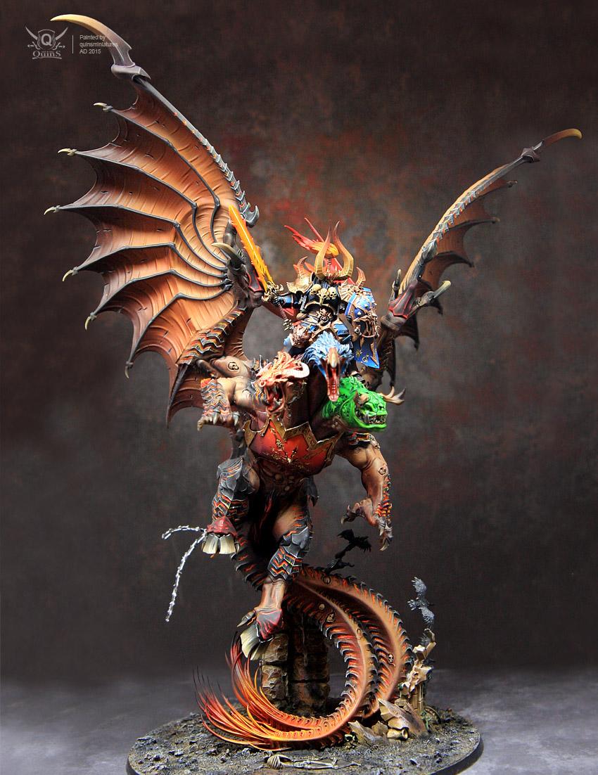 Archaon, Chaos, Chimera, Warhammer Fantasy