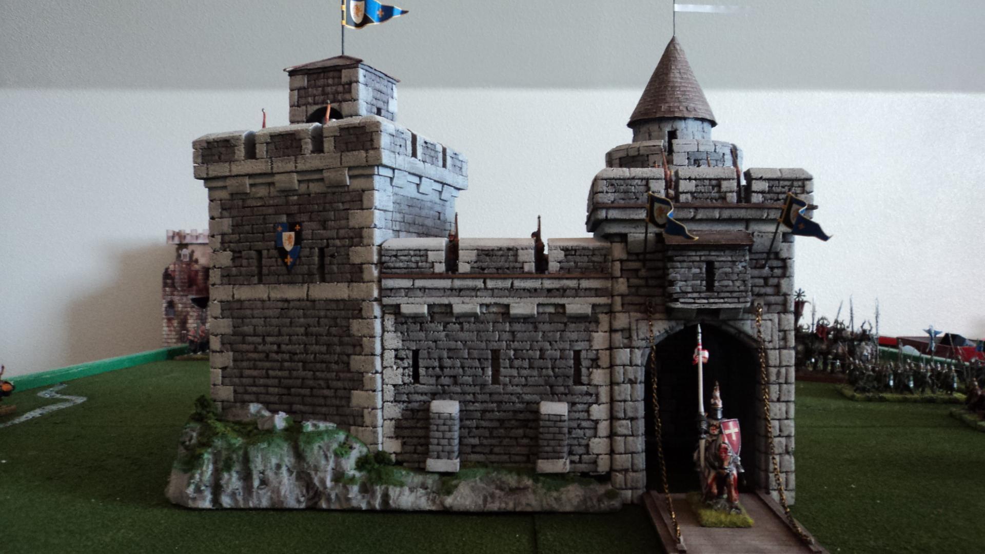 Castle, Fantasy Battle, Terrain