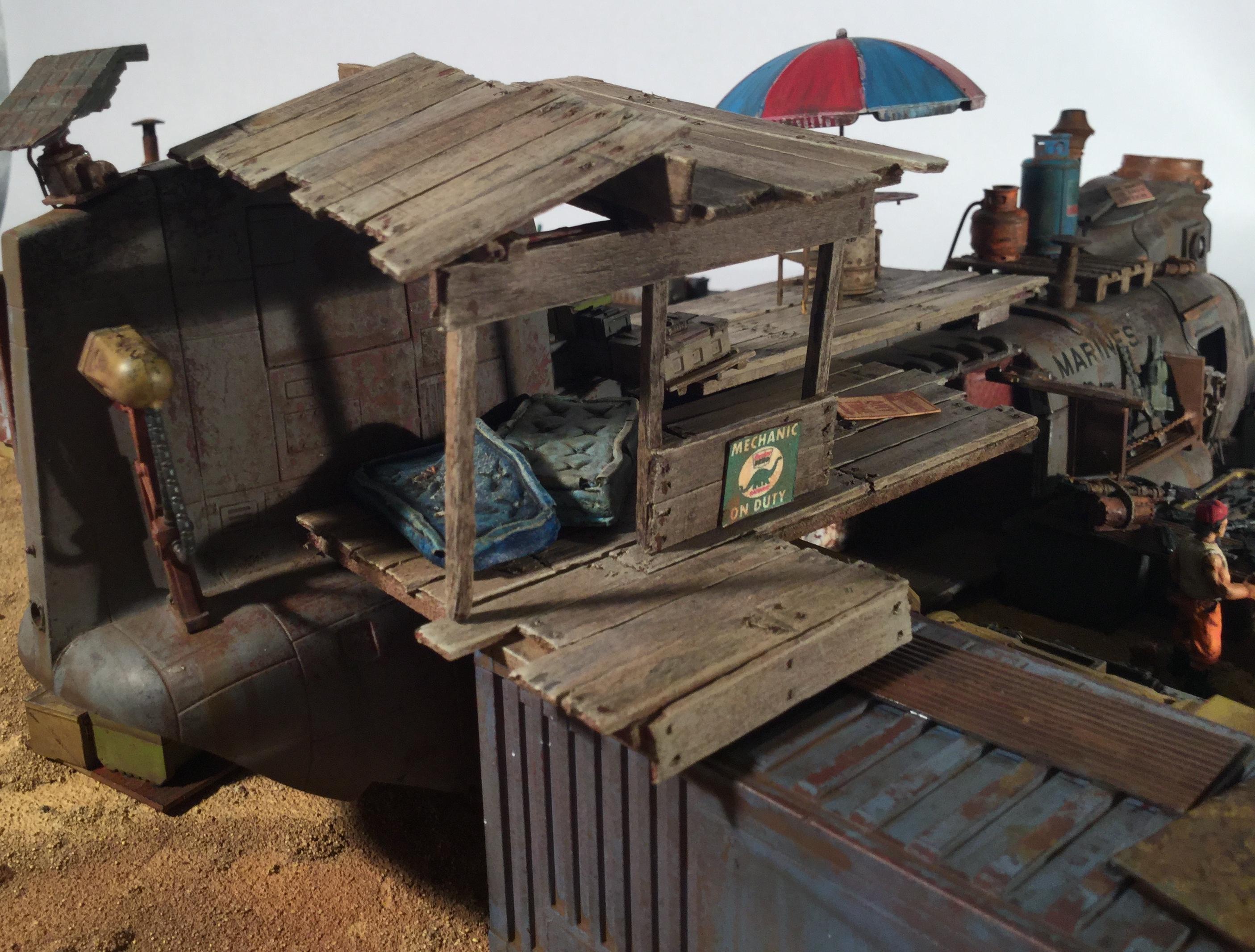Post-apocalyptic, Salvage Yard, Terrain