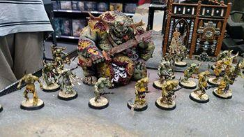 Daemons, Great Unclean One, Nurgle, Scabeiathrax