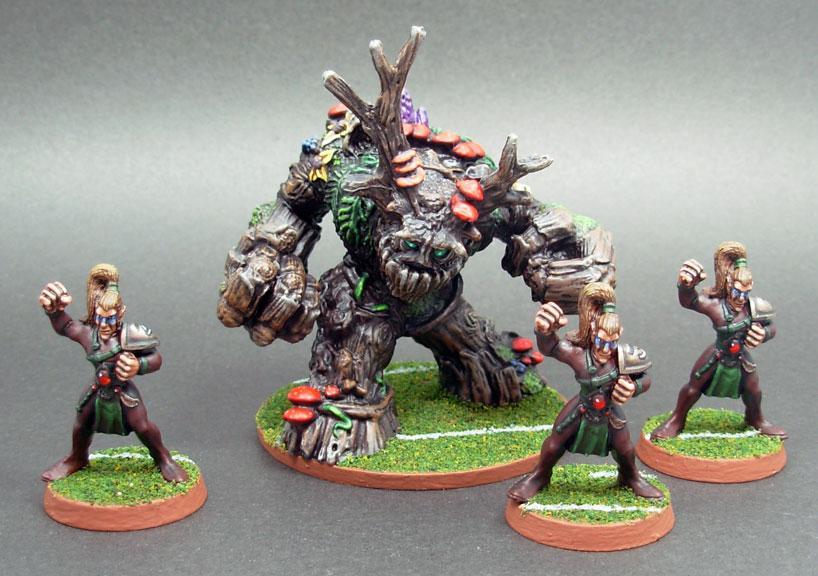 Blood Bowl, Bones, Treeman, Wood Elves