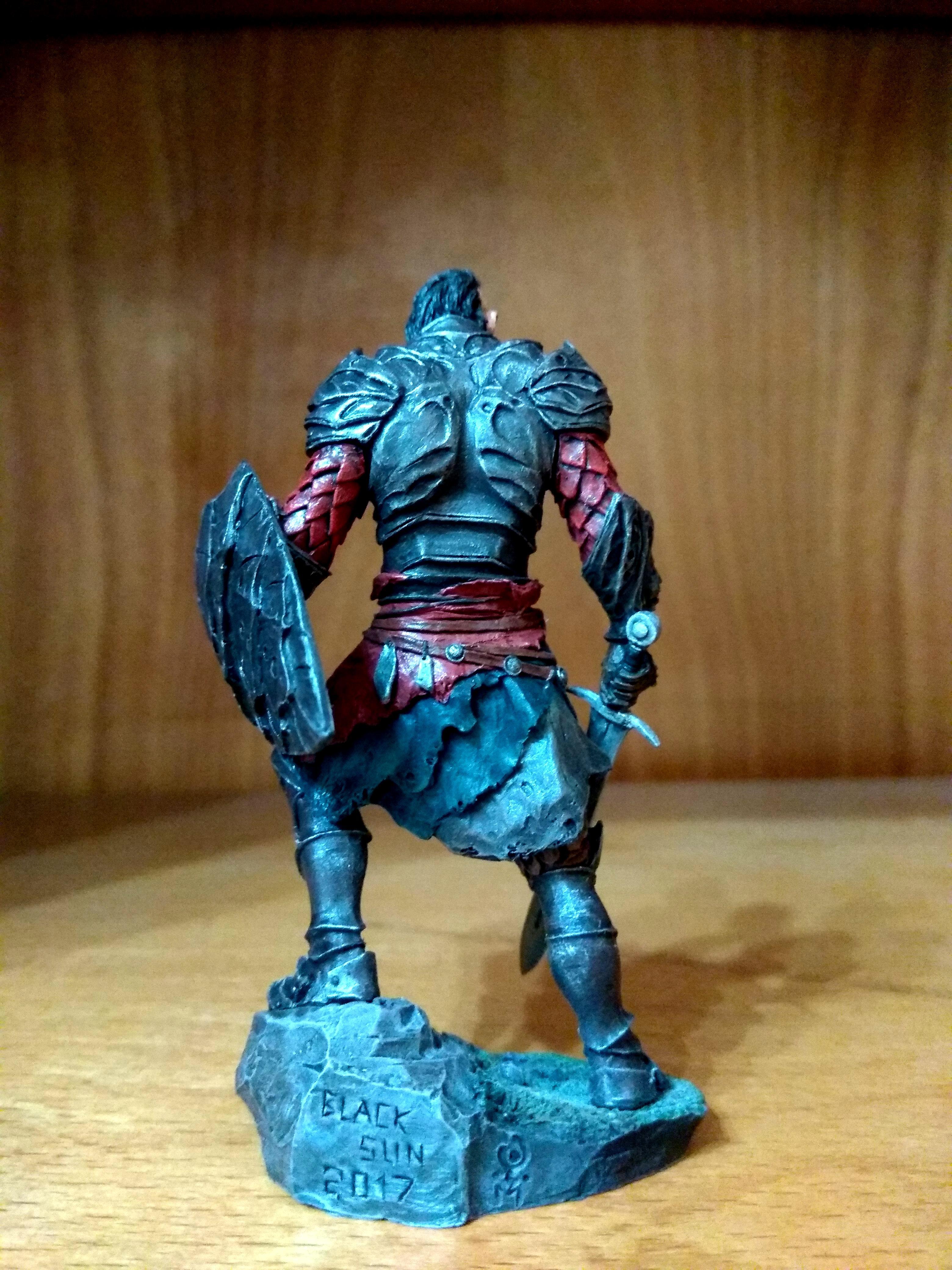 Damned, Dark, Kainan, Knights, Miniature, Sun