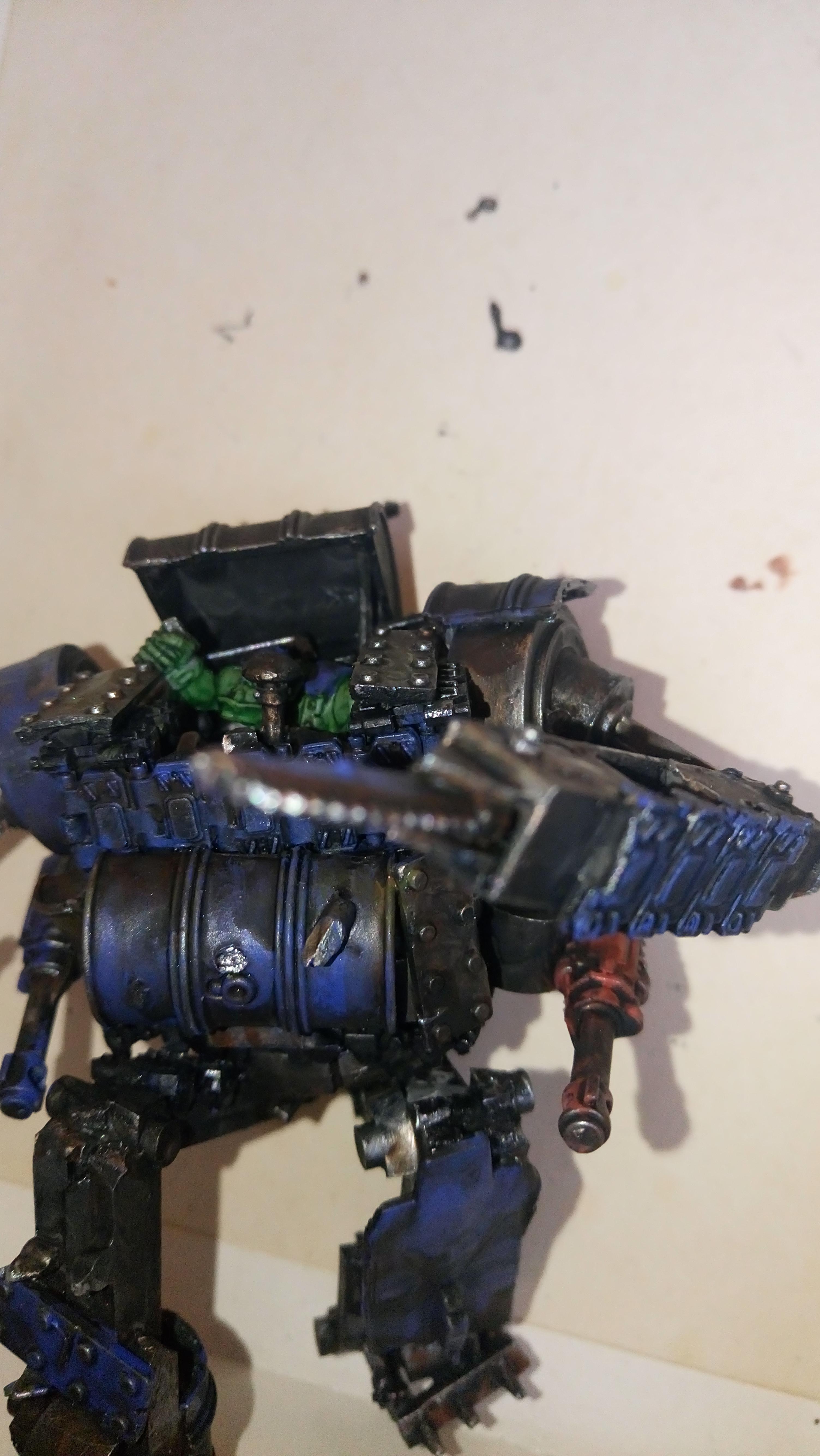 Deathskulls, Deff Dread, Deffskulls, Dreadnought, Orks, Warhammer 40,000