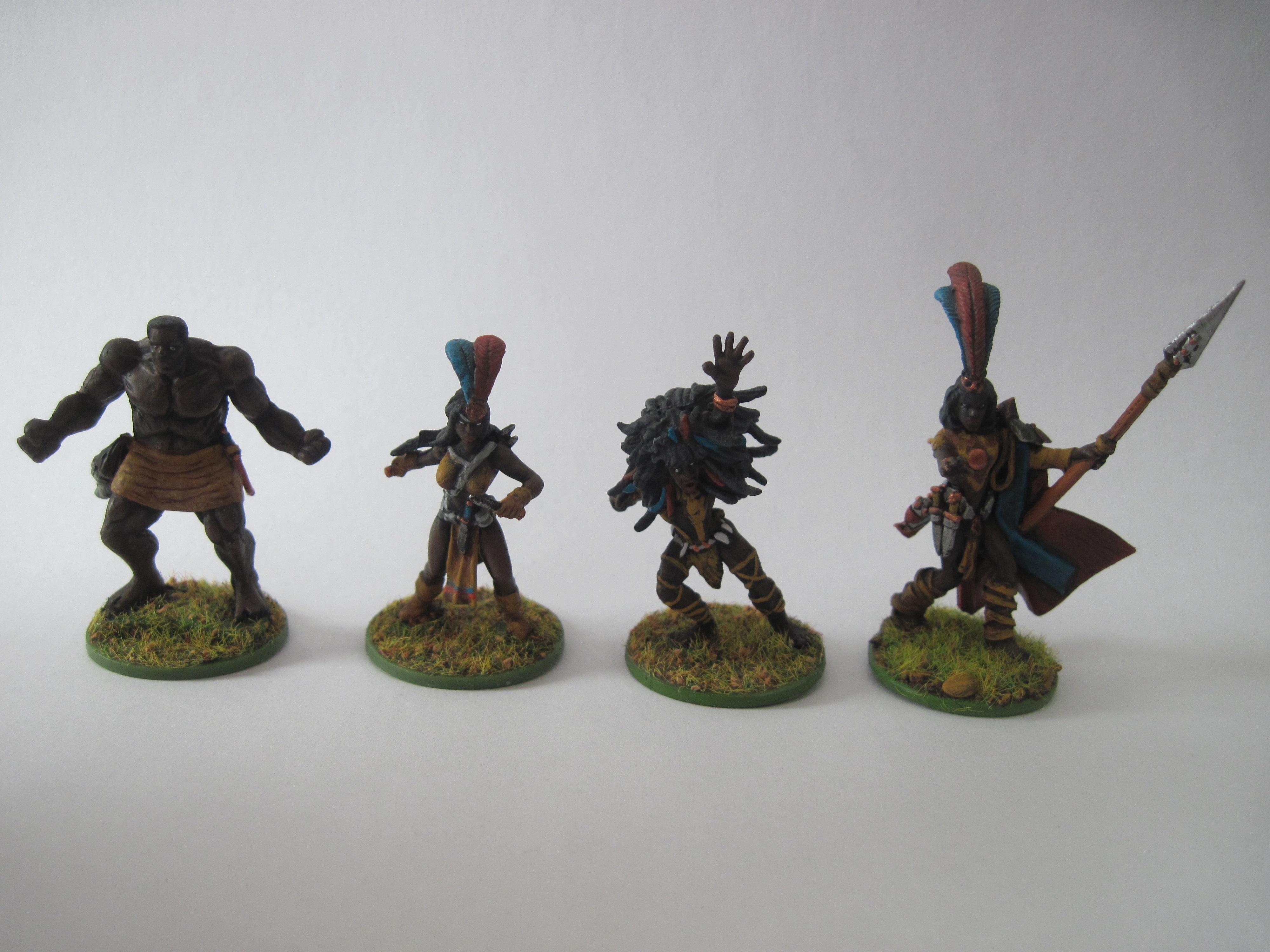 Amazon, Conversion, Goblins, Gorilla, Heroclix, Jungle, Pygmy, Toy