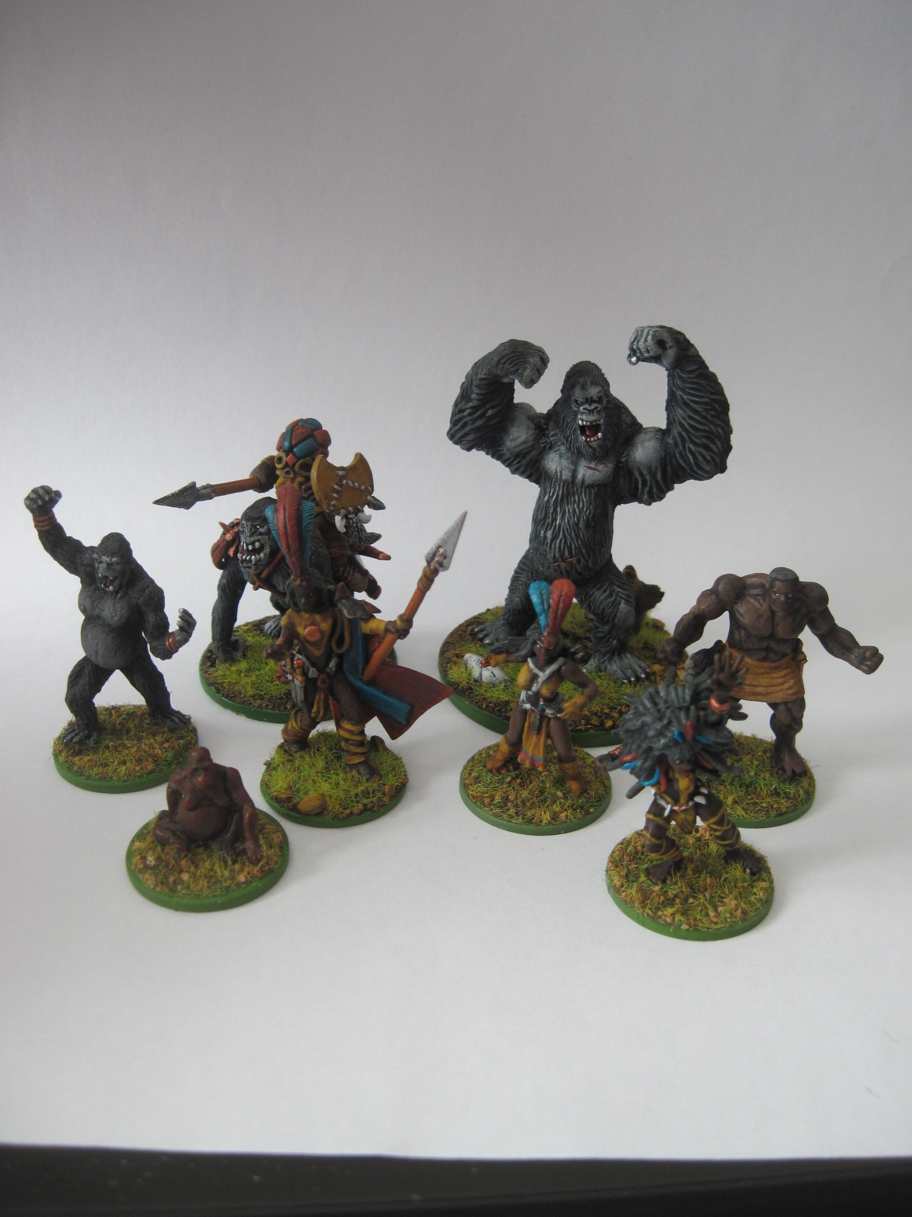 Amazon, Conversion, Goblins, Gorilla, Heroclix, Jungle, Pygmy, Toy