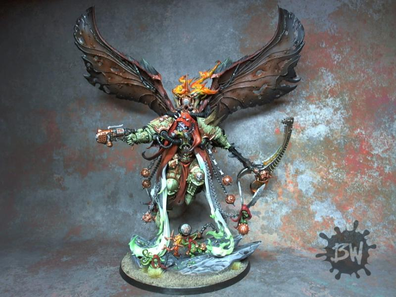Daemons, Death Gard, Mortarion, Nurgle, Primarch, Warhammer 40,000