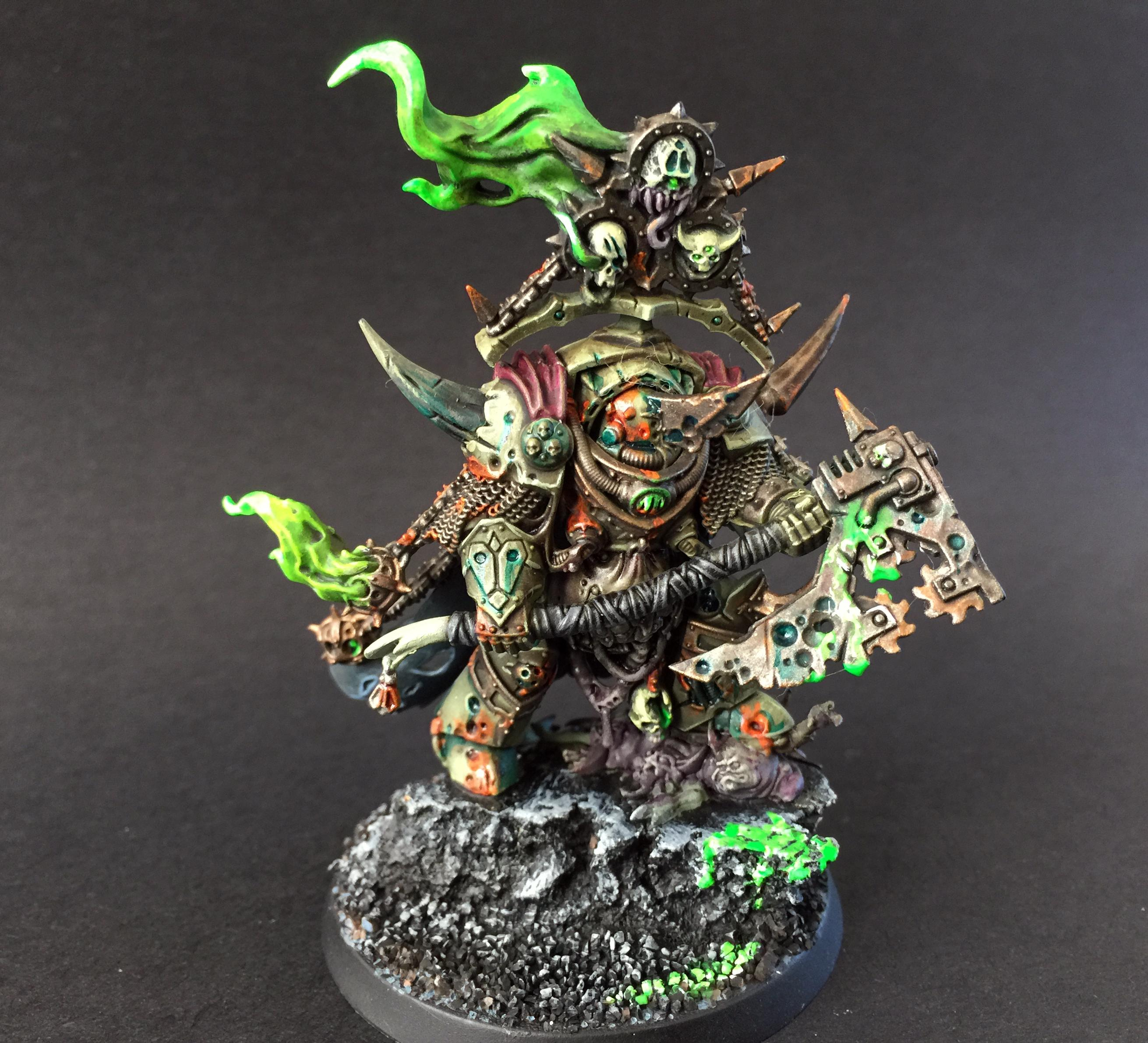 Chaos, Death Guard, Lord Contagion, Warhammer 40,000
