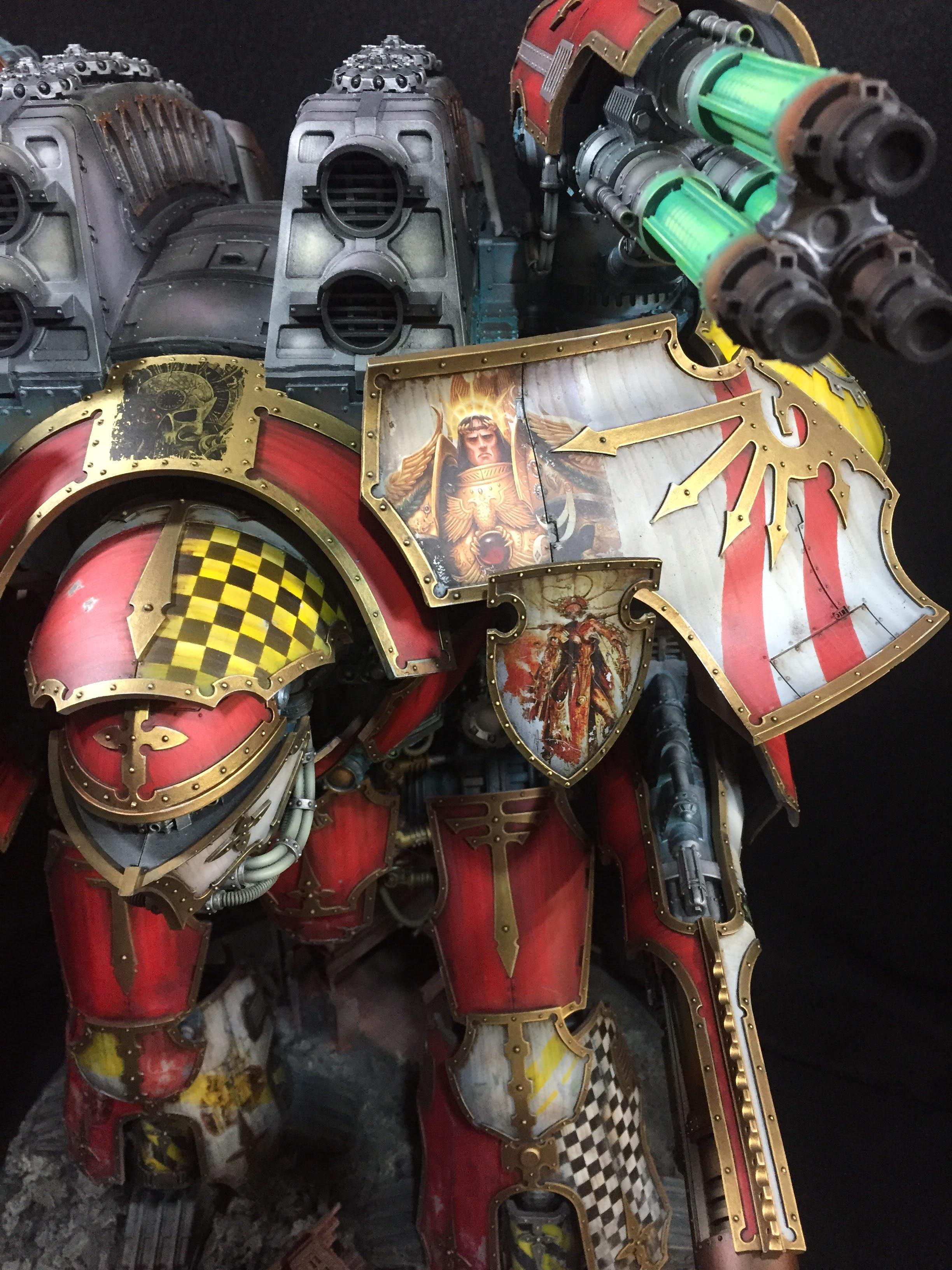 Games Workshop, Imperial, Mars, Titan, Warhammer 40,000, Warlord