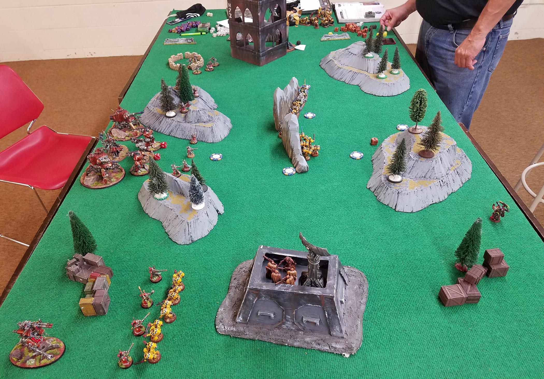 Admech, Battle Report, Lamenters, Warhammer 40,000
