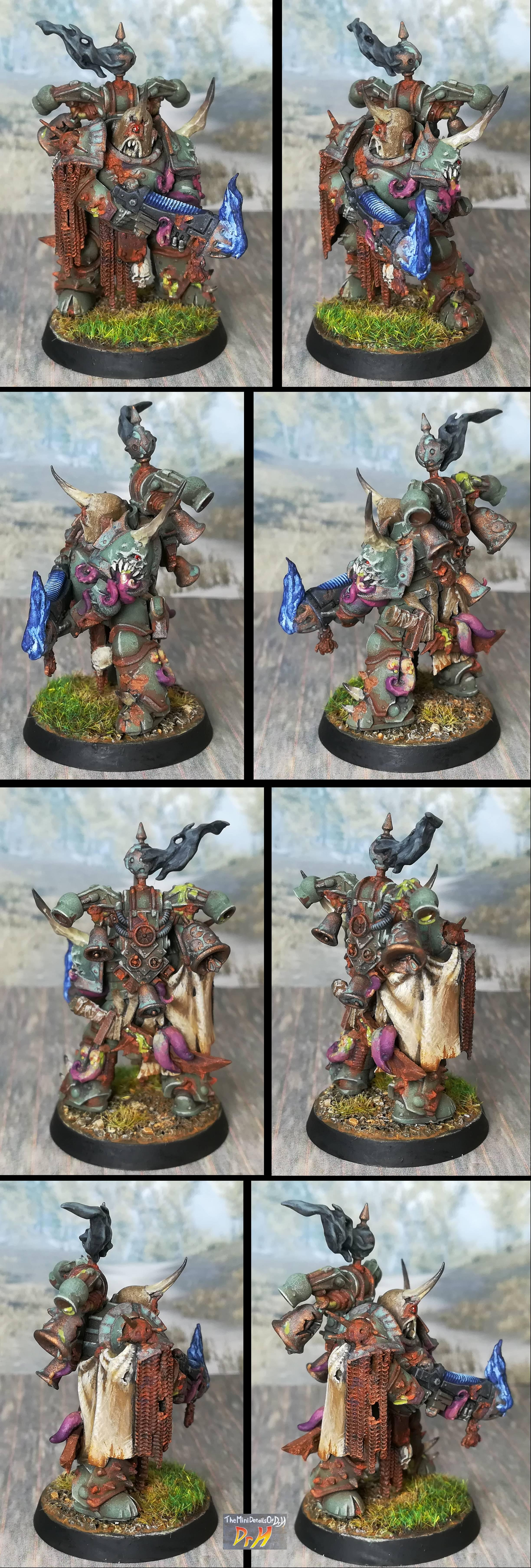 Chaos Space Marines, Nurgle, Old, Warhammer 40,000