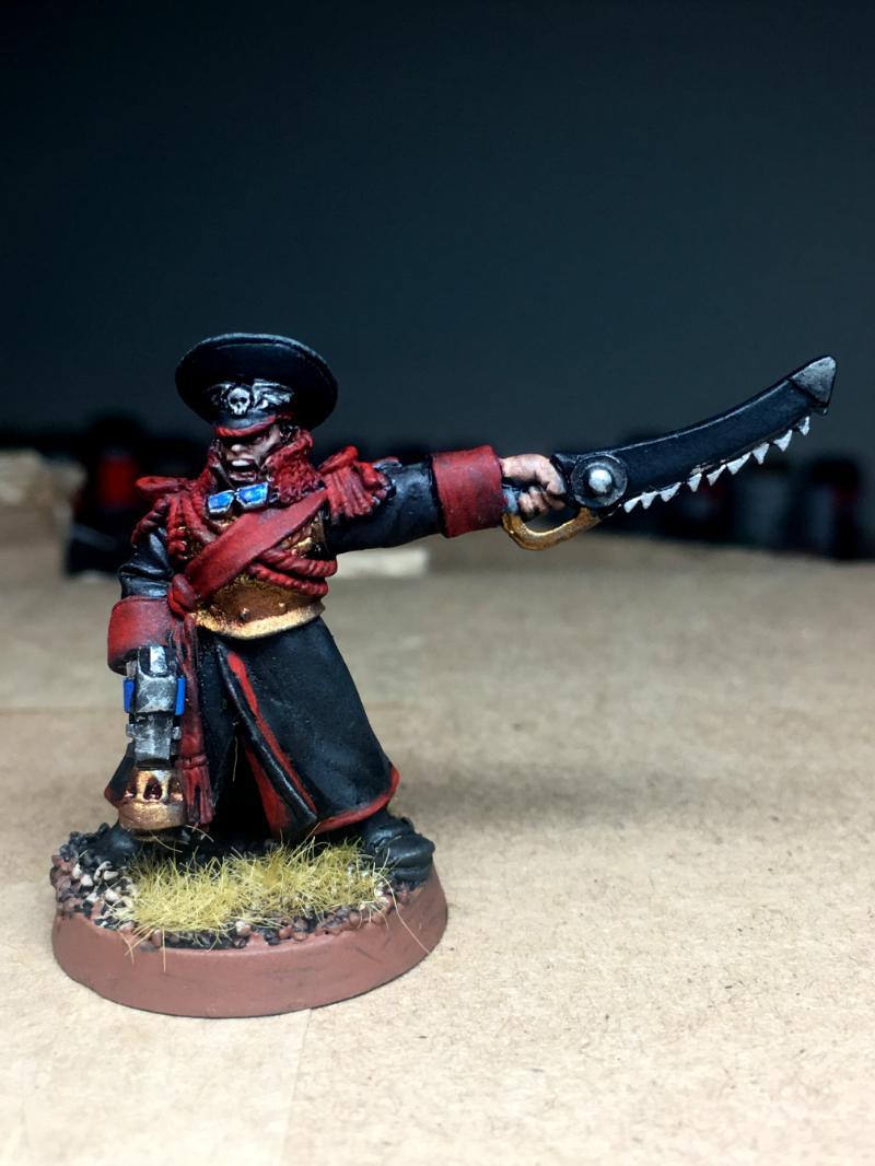 Astra Militarum, Commissar, Imperial Guard, Praetorians