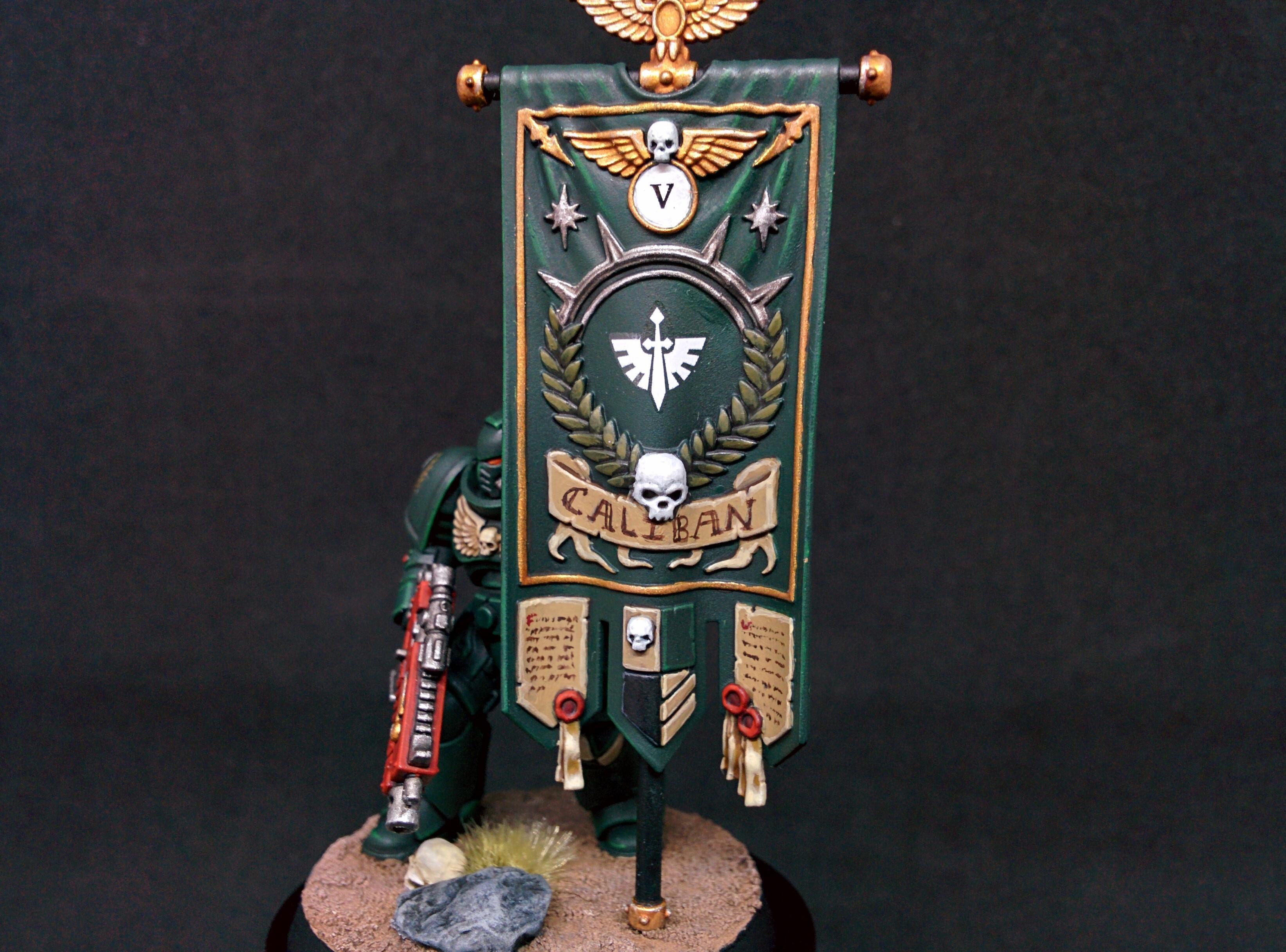 Ancient, Banner, Citadel, Dark Angels, Dark Imperium, Games Workshop, Primaris, Space Marines, Warhammer 40,000, Warhammer Fantasy