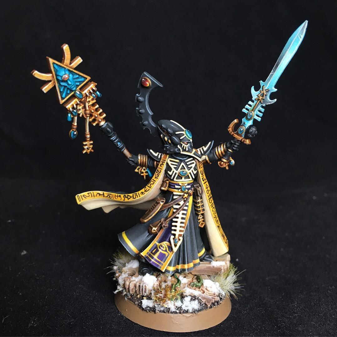 Blending, Eldar, Eldrad, Snow, Ulthwe, Warhammer 40,000