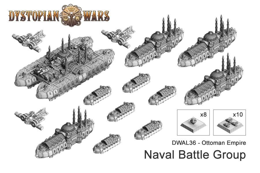 Copyright Spartan, Dystopian Legions, Dystopian Wars, Ottoman, Out Of Production, Spartan Games, Steampunk