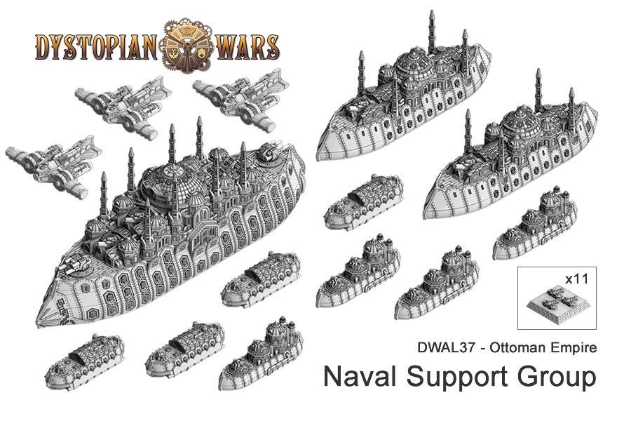 Copyright Spartan, Dystopian Legions, Dystopian Wars, Fleet, Naval, Ottoman, Out Of Production, Spartan Games, Steampunk