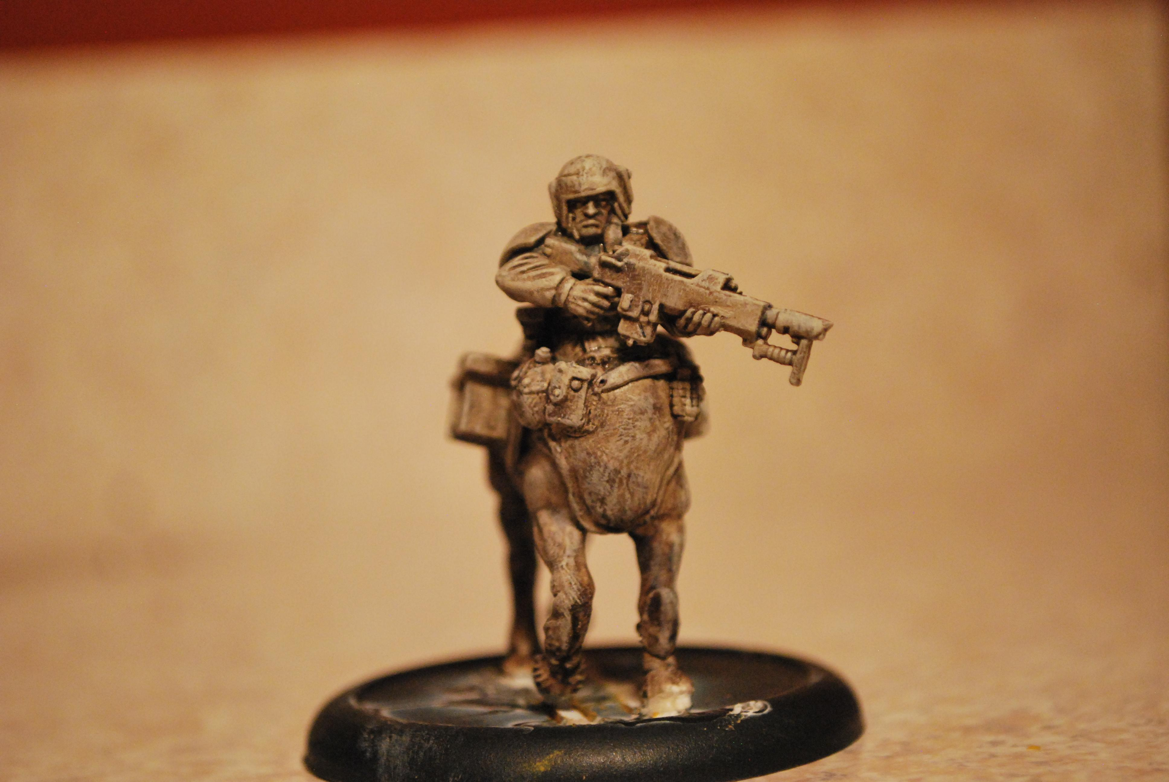 Centaur, Conversion, Custo, Fallout, High Elf Horse, Hybrid, Imperial Guard, Minis, Mutant, Post Apoc, Post Apocalyptic, Pro-create, Prototype, Sculpting, This Is Not A Test