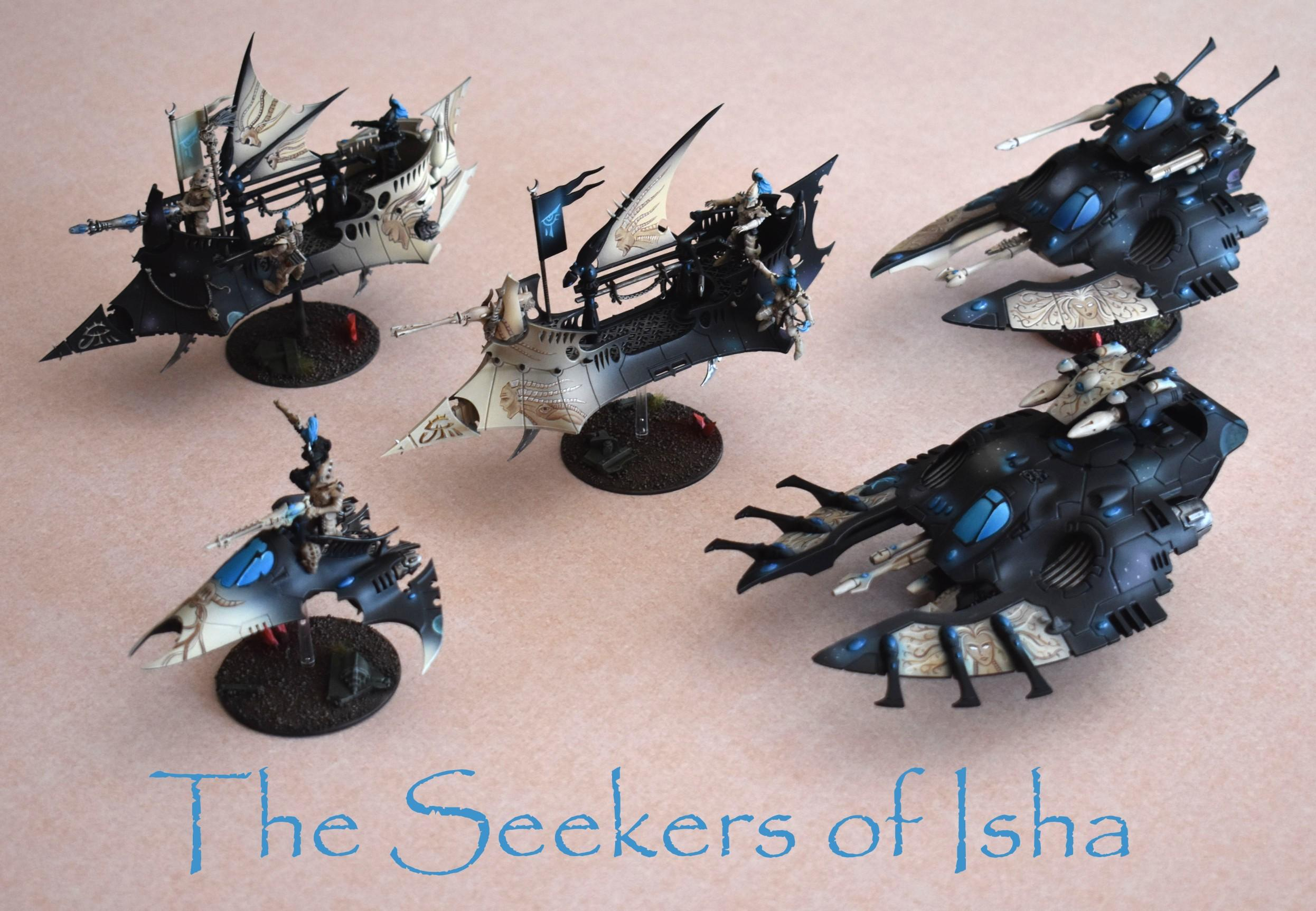 Dark Eldar, Eldar, Falcon, Fleet, Freehand, Isha, Object Source Lighting, Raider, Serpent, Ulthwe, Venom, Ynnari