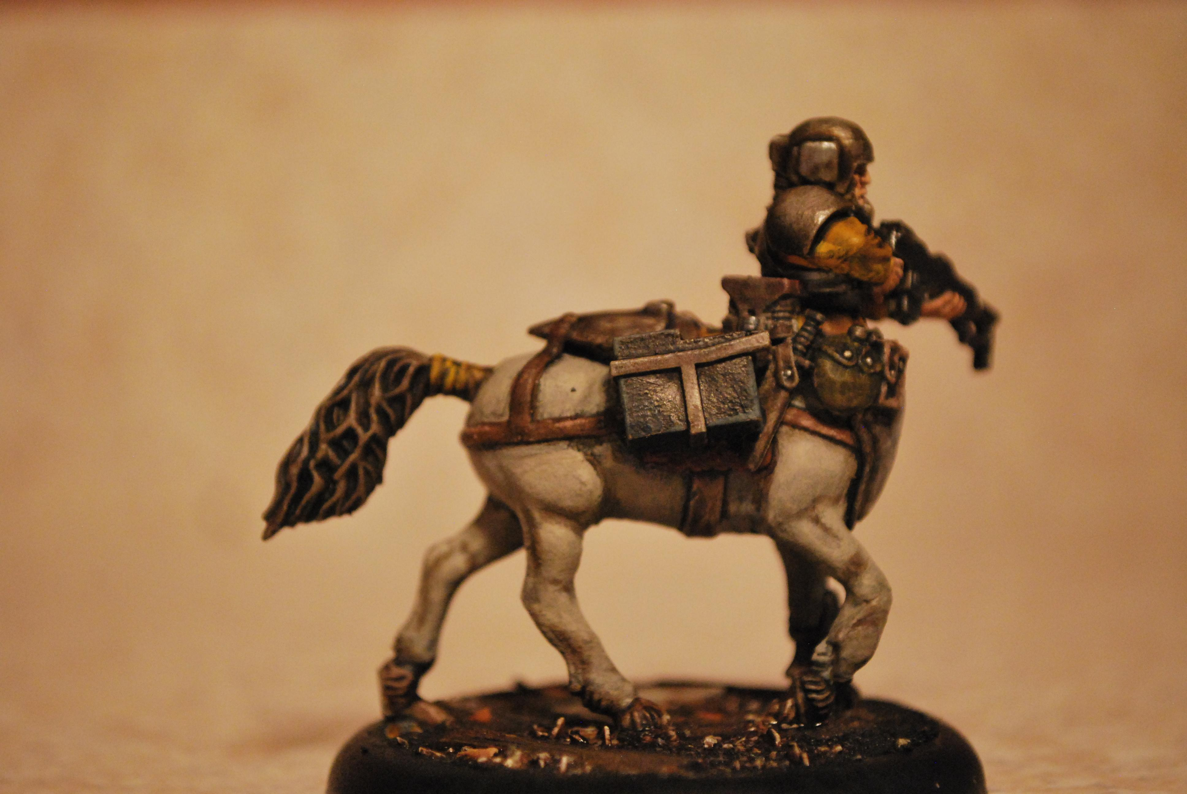 Centaur, Conversion, Custom, Empire, Fallout, Horse, Imperial Guard, Mutant, Plus, Post Apoc, Post Apocalyptic, Pro-create, Sculpting, Soldier, This Is Not A Test