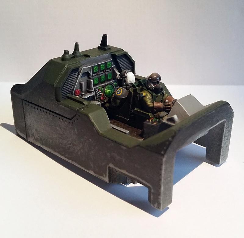 Marauder Destroyer Cockpit