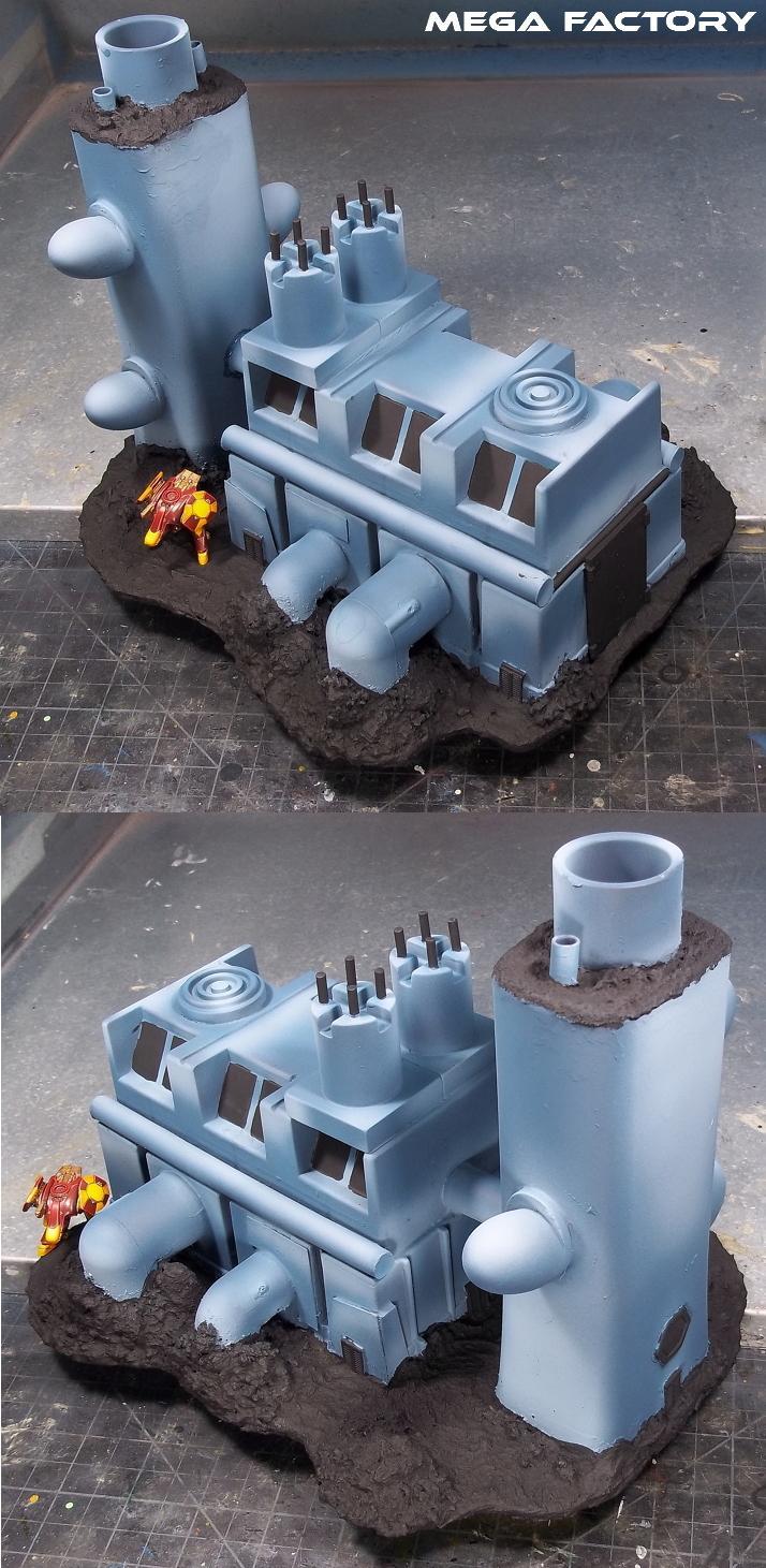 Panzer Grey WIP - Mega Factory