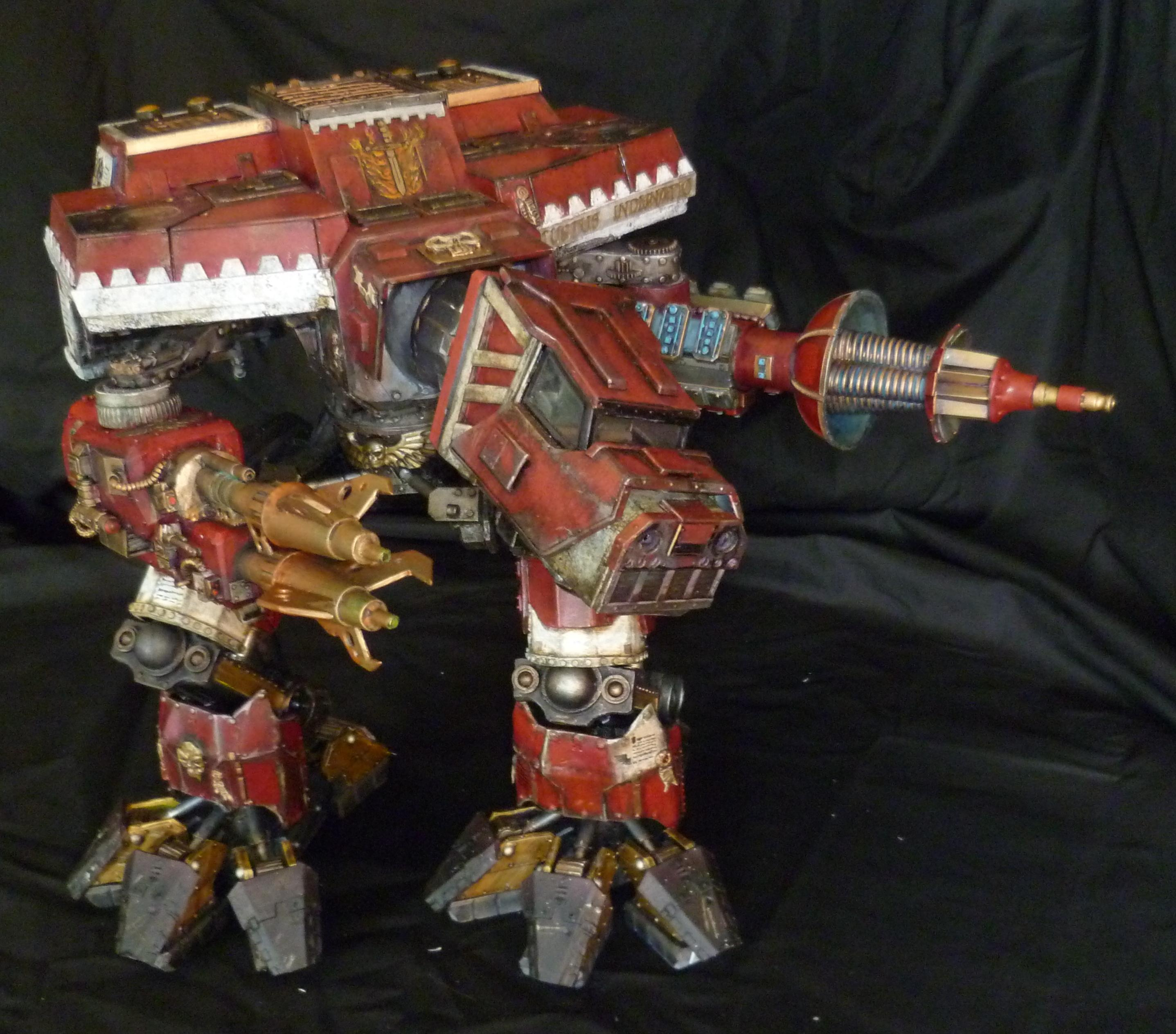 Legio Atarus, Scratch Build, Titan, Warhound